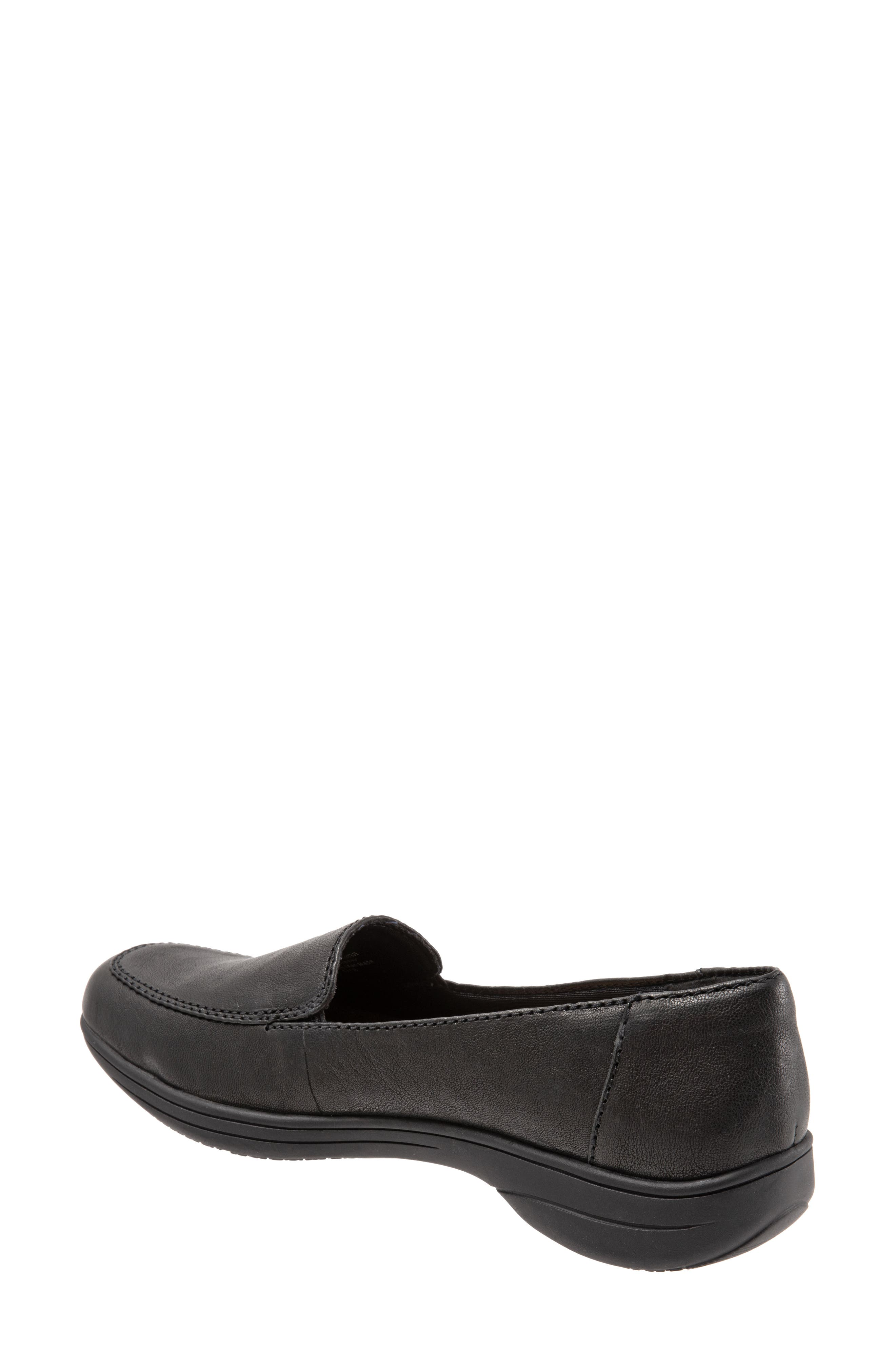 Jacob Loafer,                             Alternate thumbnail 2, color,                             BLACK LEATHER