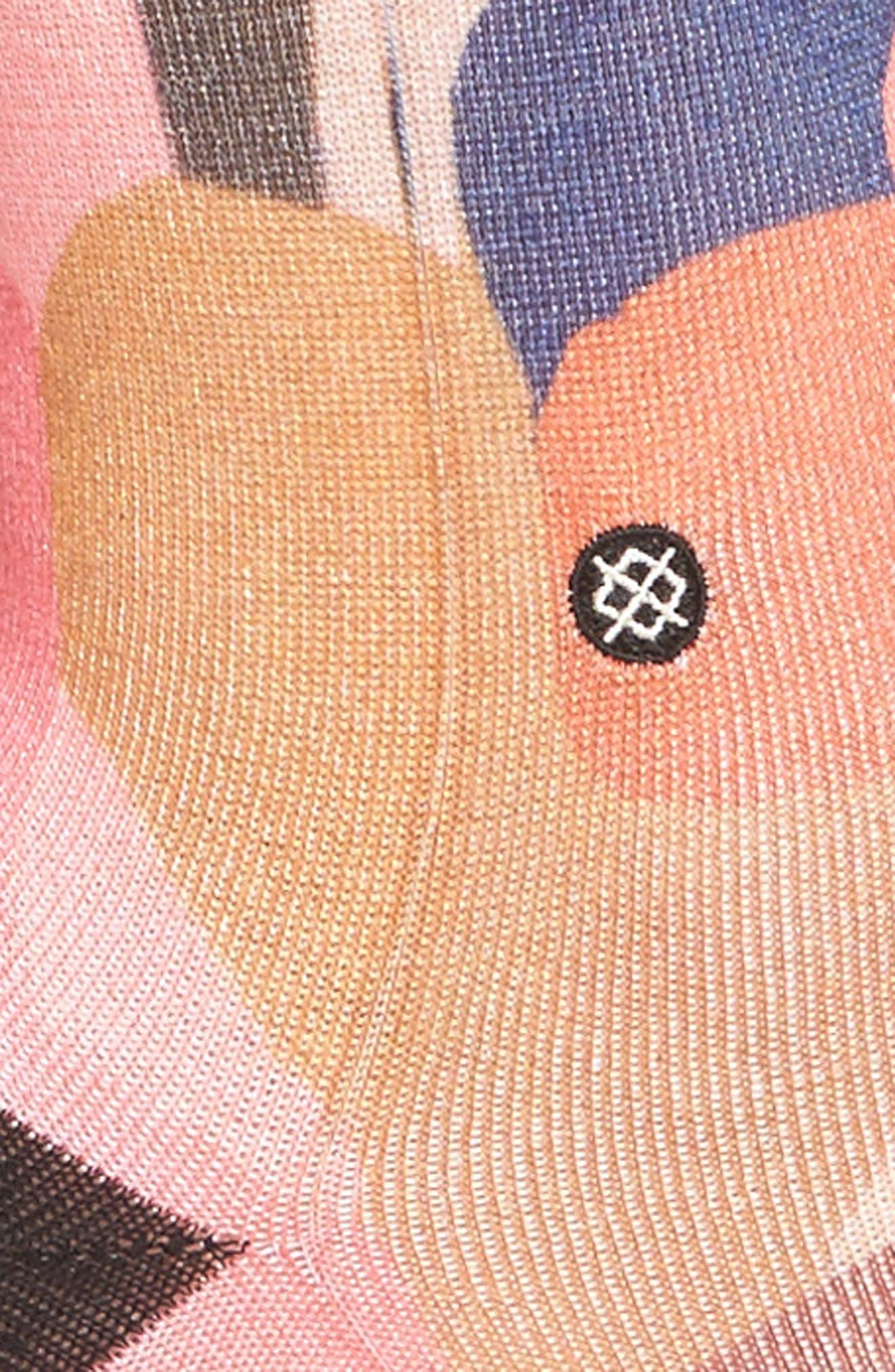 Stolen Kiss Crew Socks,                             Alternate thumbnail 3, color,                             600