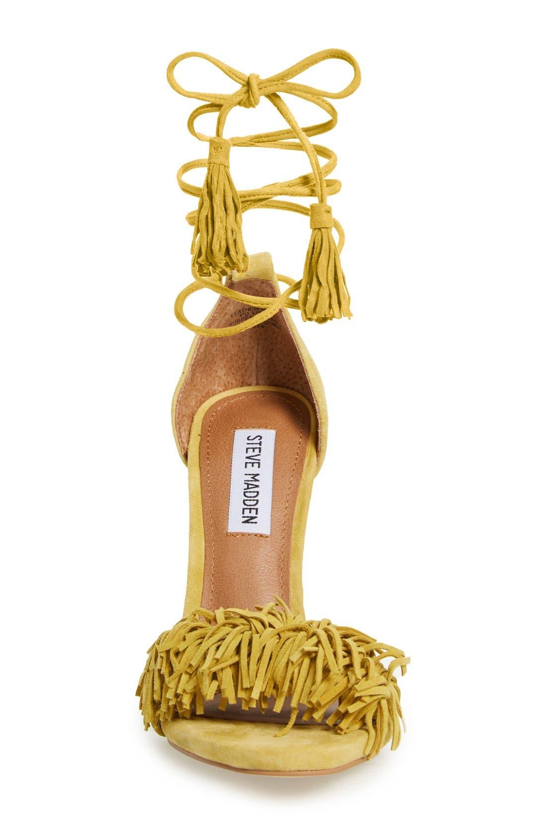 'Sassey' Fringe Sandal,                             Alternate thumbnail 12, color,