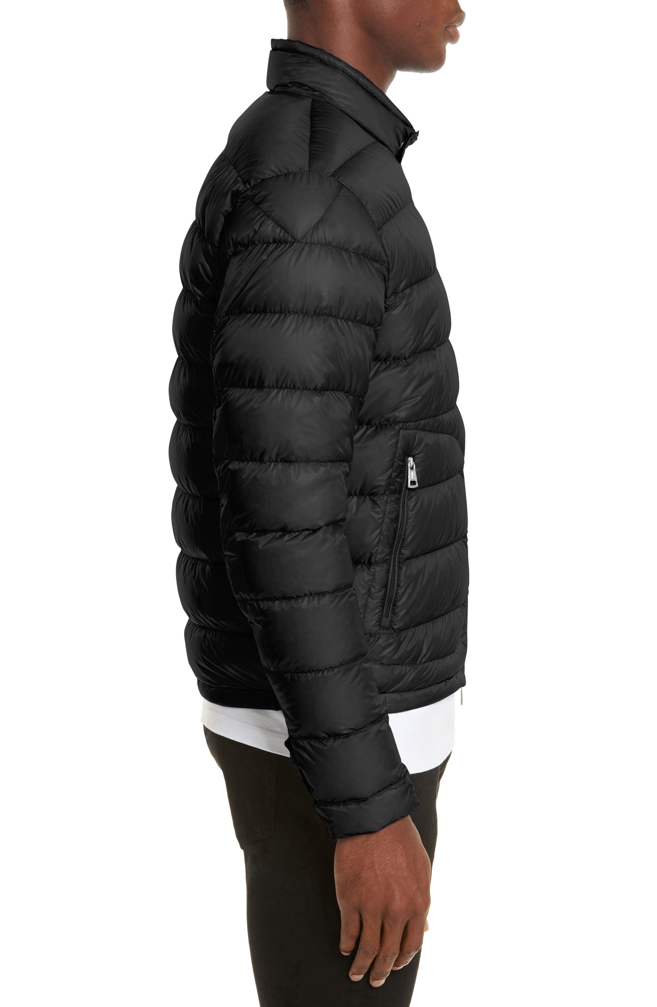 Acorus Down Quilted Jacket,                             Alternate thumbnail 3, color,                             001