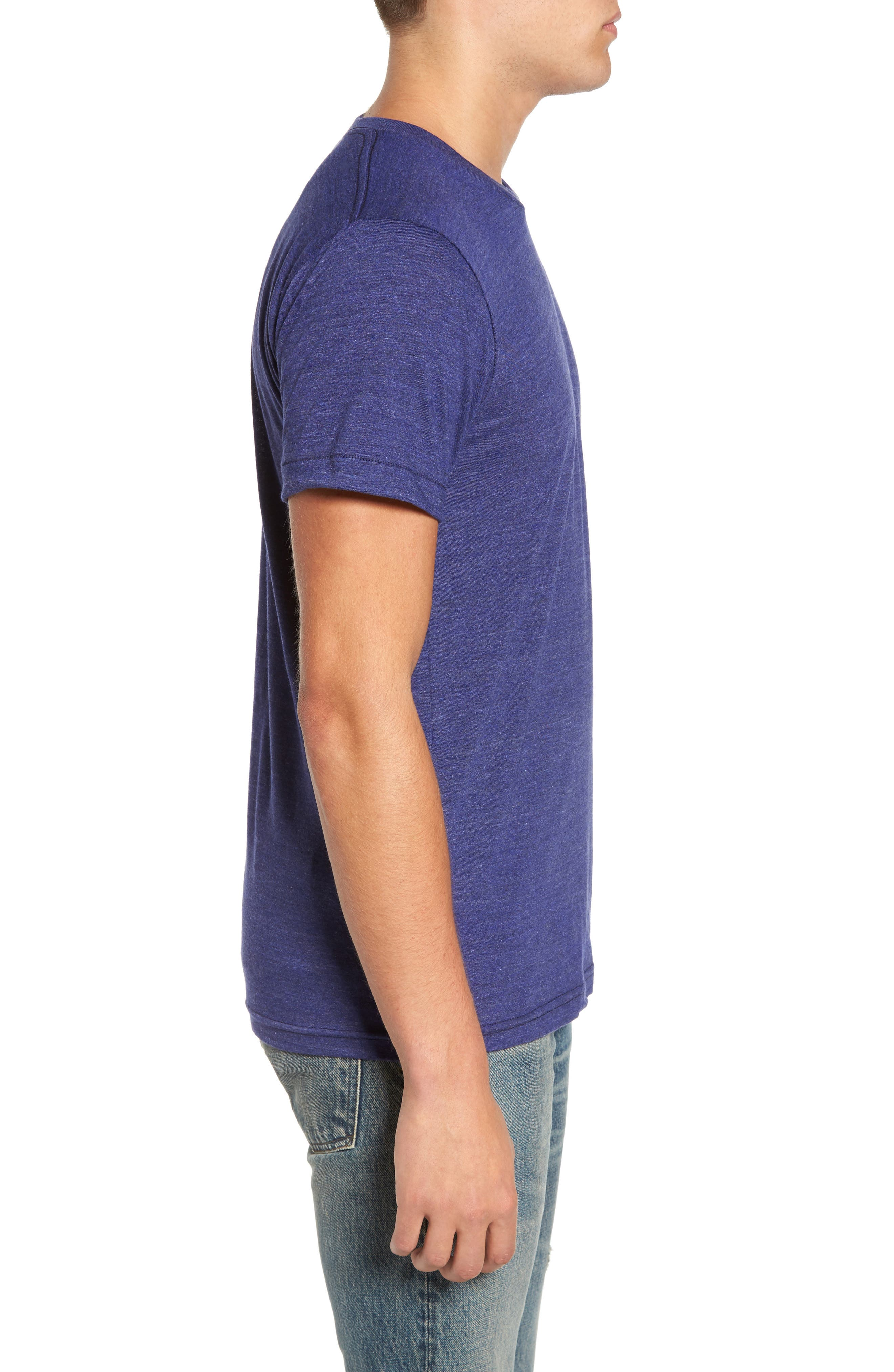 NW Trident Embroidered T-Shirt,                             Alternate thumbnail 9, color,