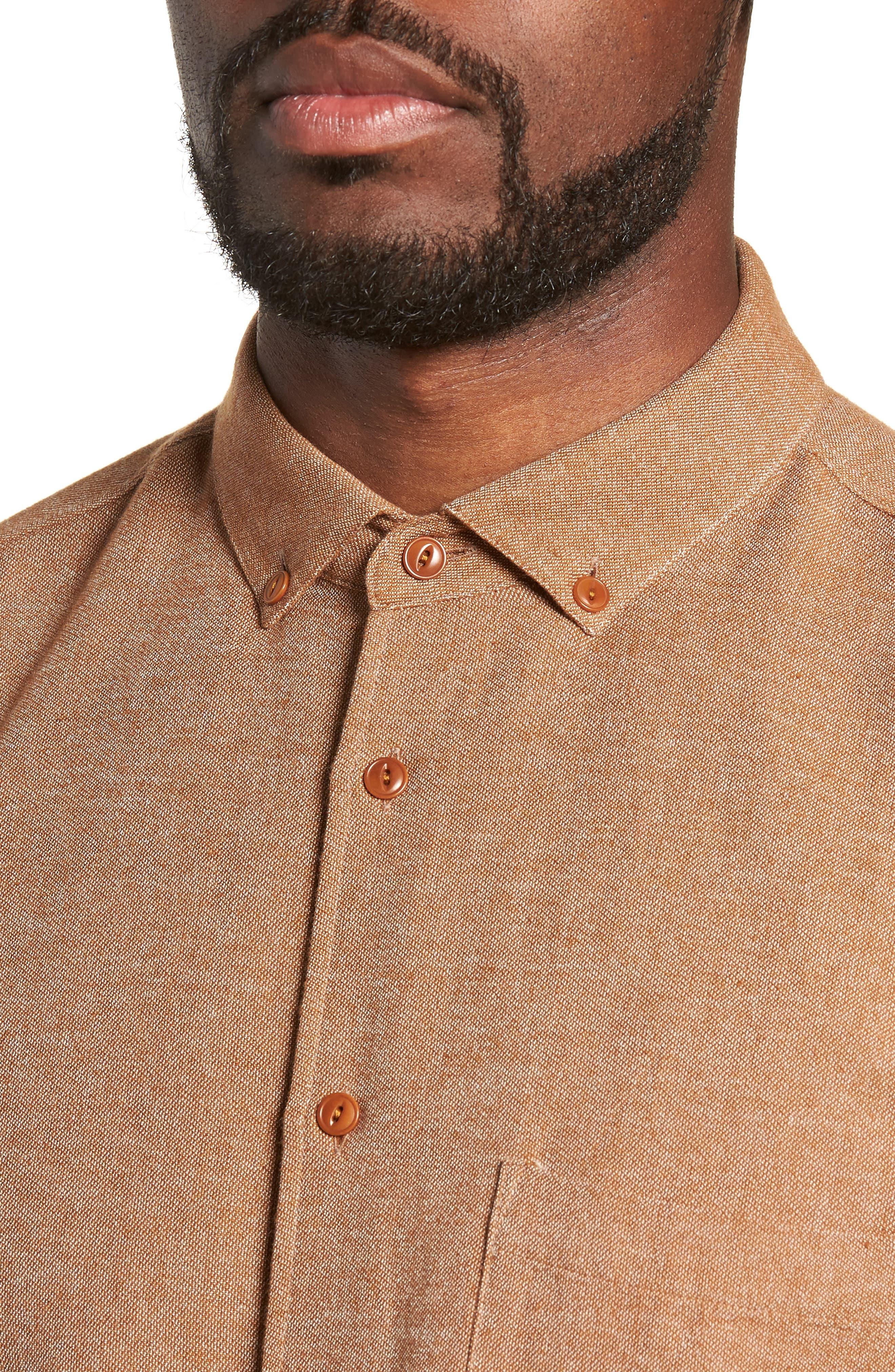 Dean Regular Fit Chambray Shirt,                             Alternate thumbnail 2, color,                             200