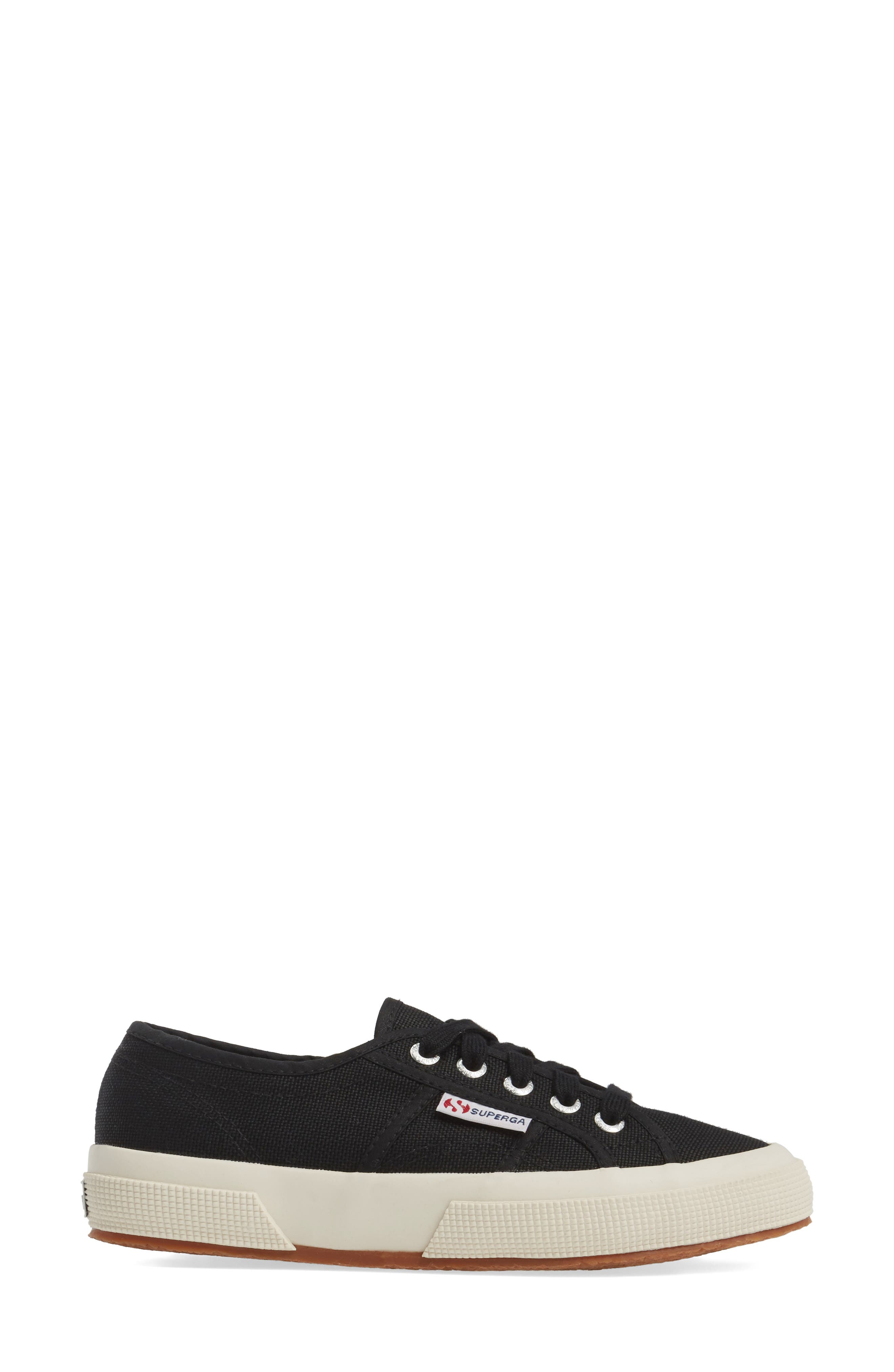 'Cotu' Sneaker,                             Alternate thumbnail 4, color,                             BLACK CANVAS