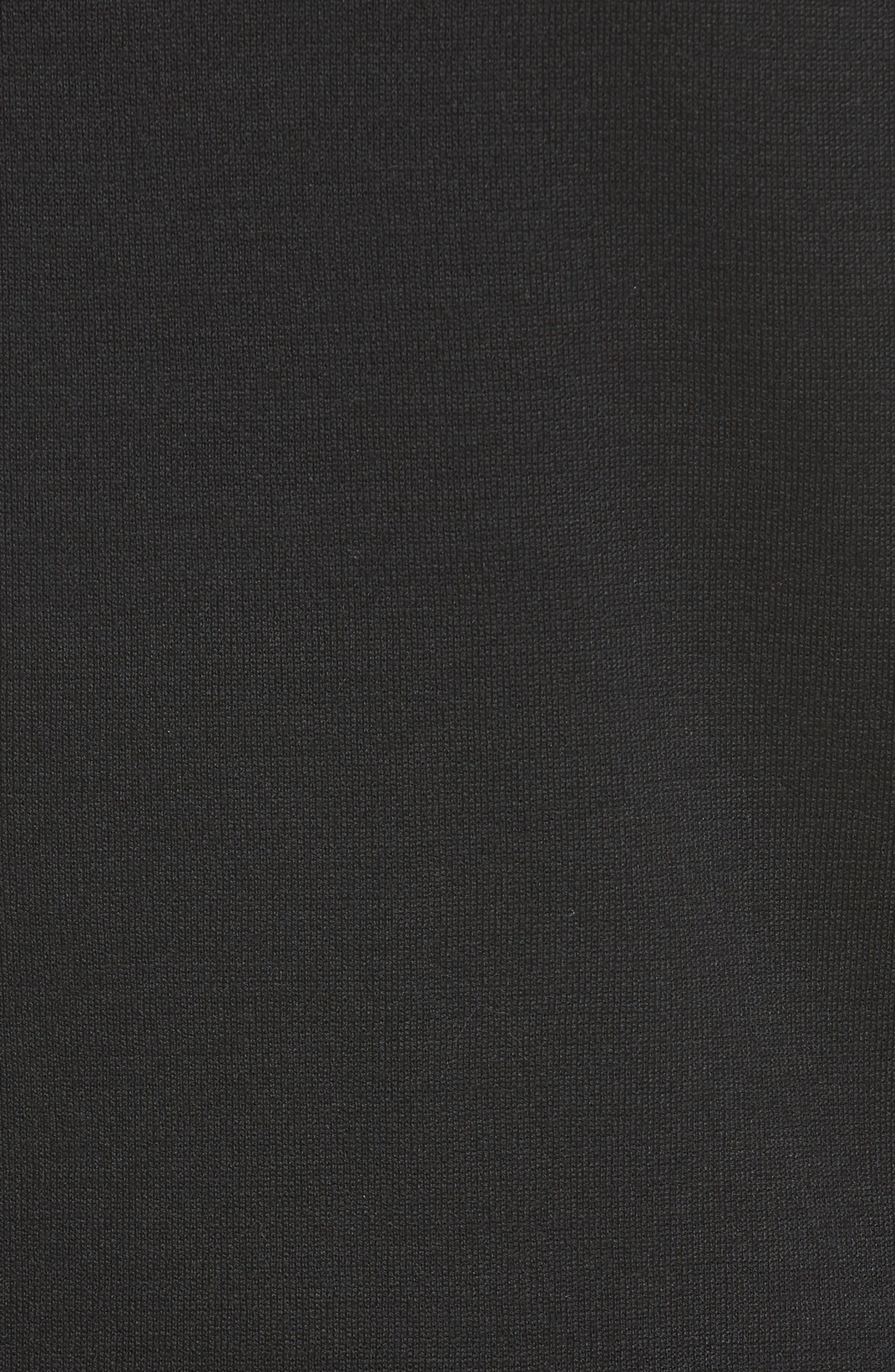 Eyelash Pebble Dash Tweed Knit Jacket,                             Alternate thumbnail 6, color,                             001