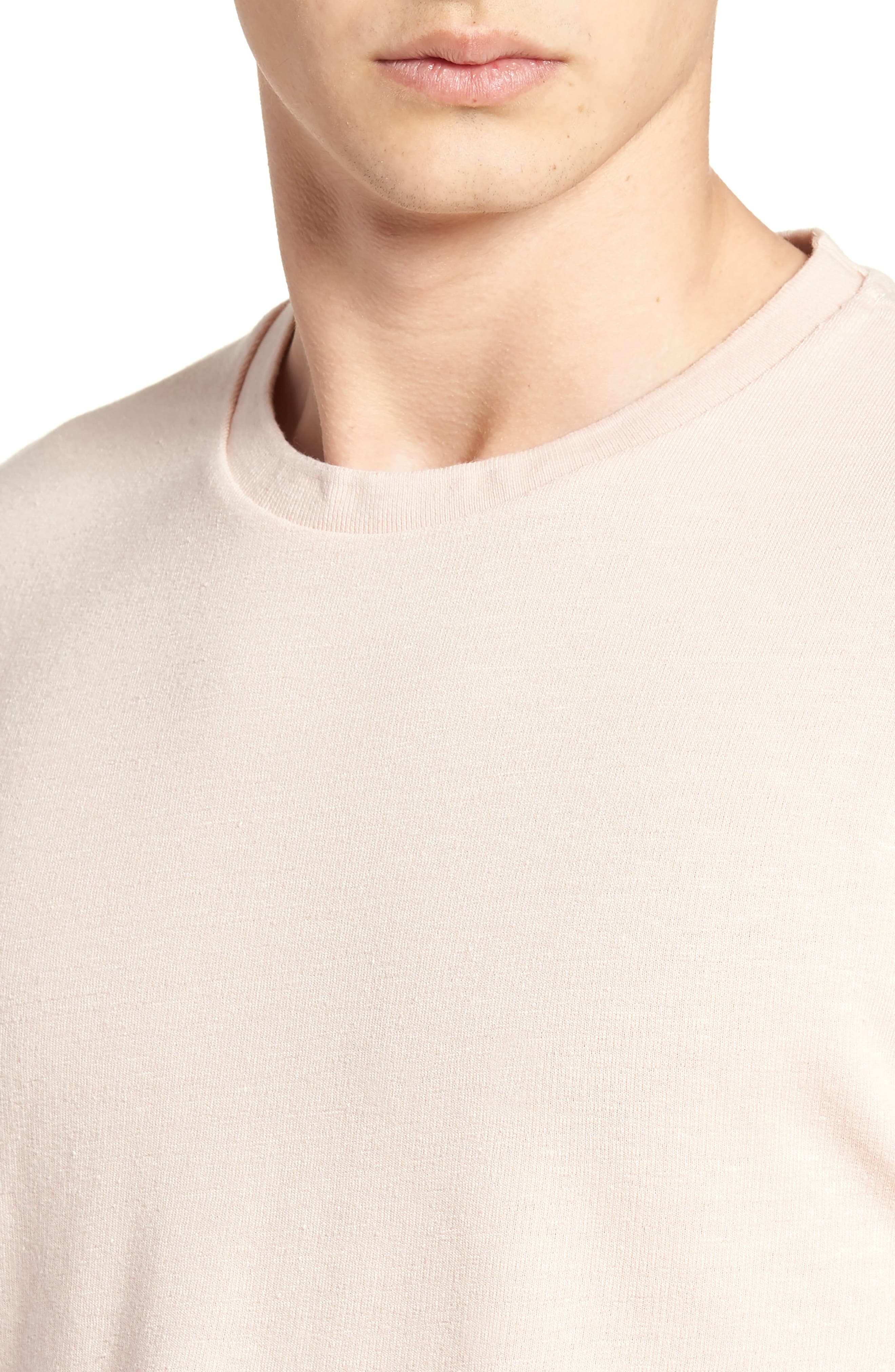 Stripe Crewneck Sweater,                             Alternate thumbnail 8, color,