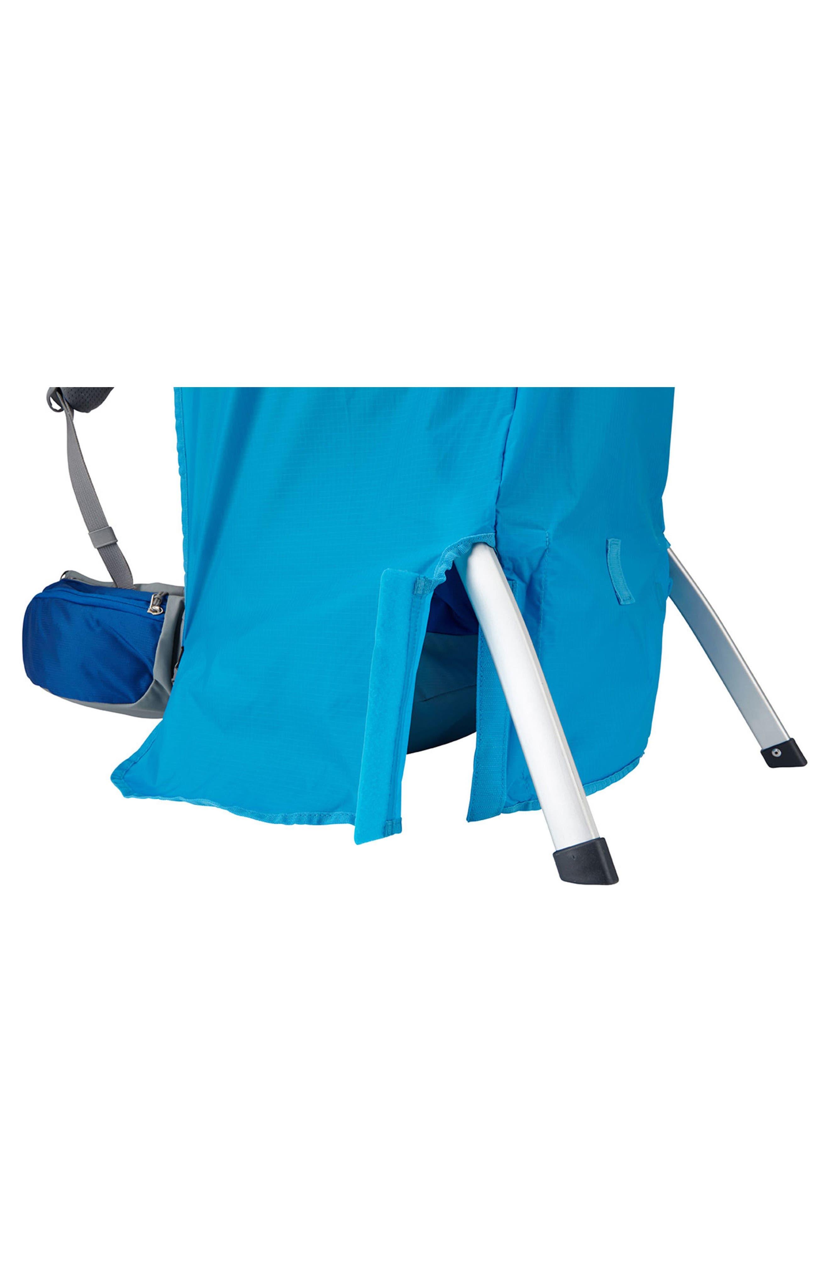 Sapling Child Carrier Rain Cover,                             Alternate thumbnail 3, color,                             THULE BLUE