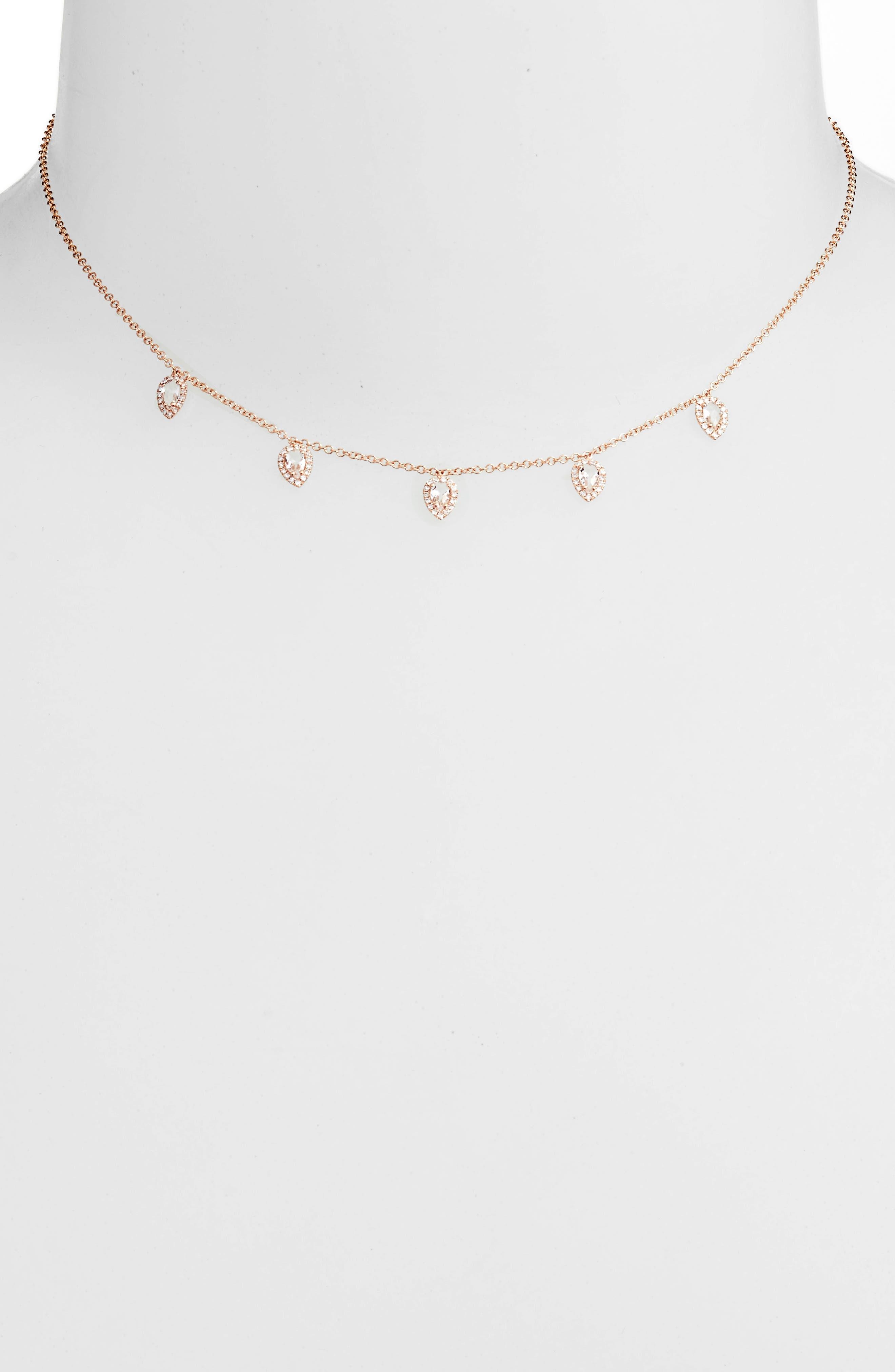 Diamond Collar Necklace,                             Alternate thumbnail 2, color,                             712