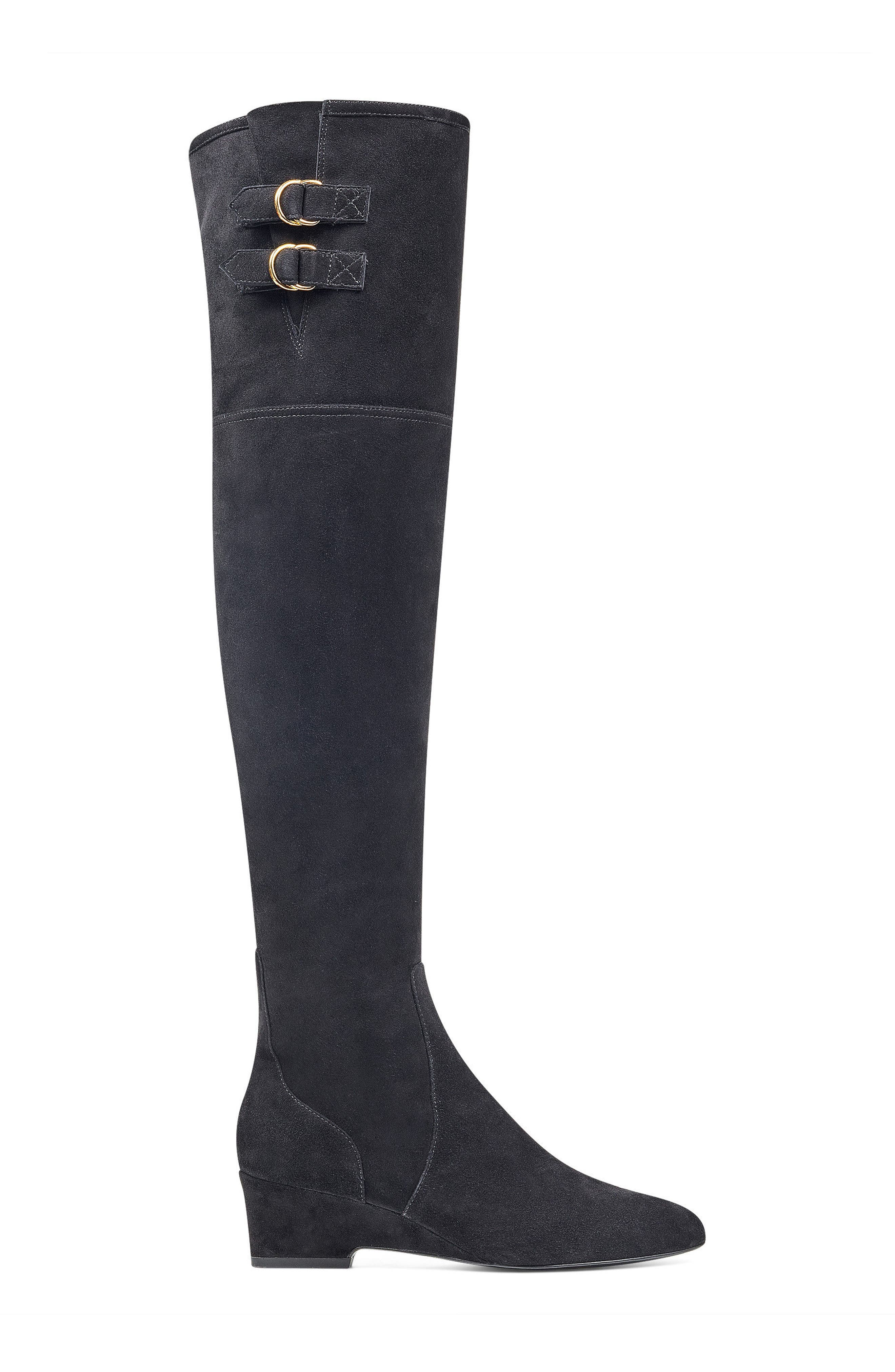 NINE WEST,                             Jaen Over the Knee Boot,                             Alternate thumbnail 3, color,                             001