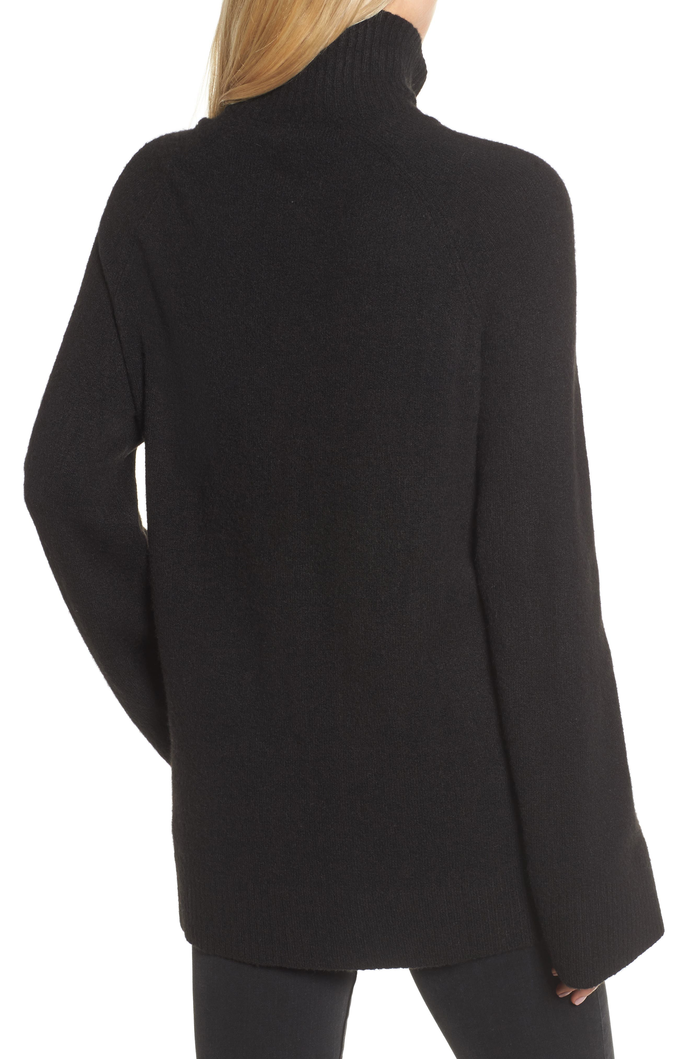 Half Zip Pullover,                             Alternate thumbnail 2, color,                             001