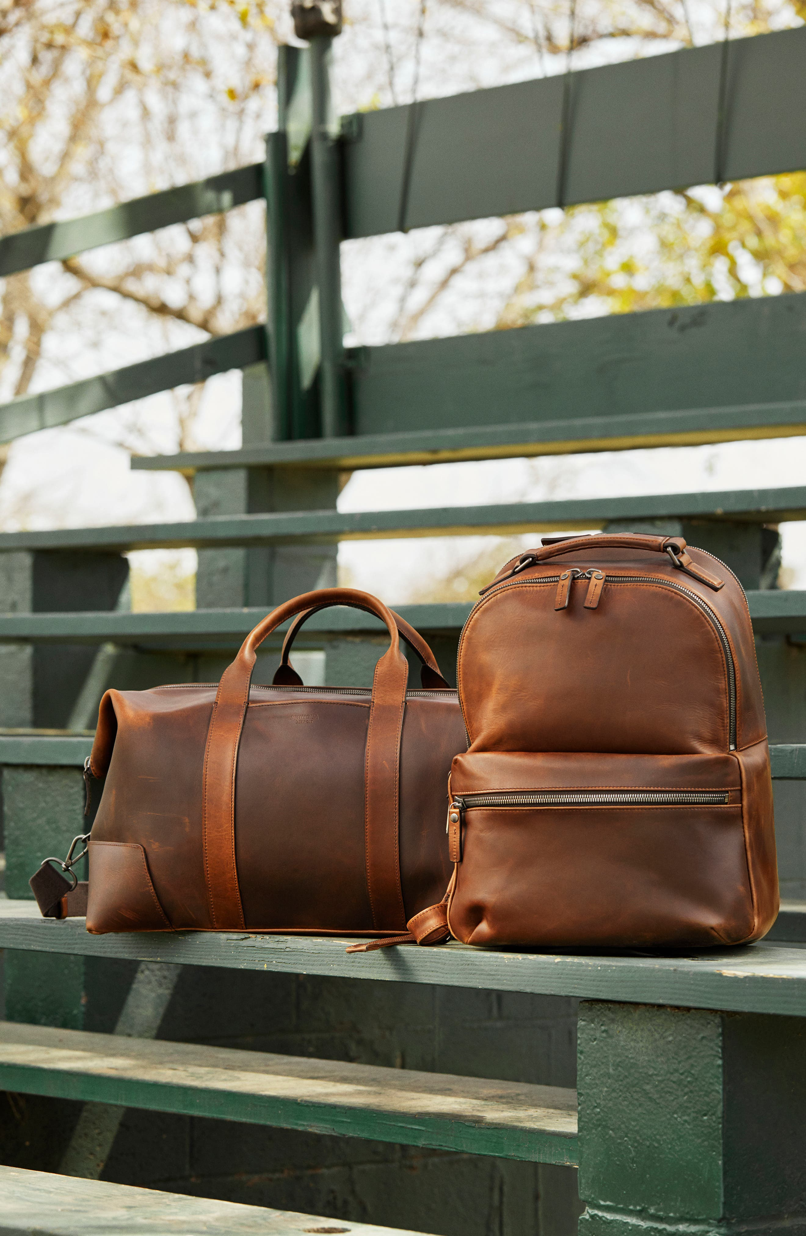 Runwell Leather Backpack,                             Alternate thumbnail 6, color,                             215