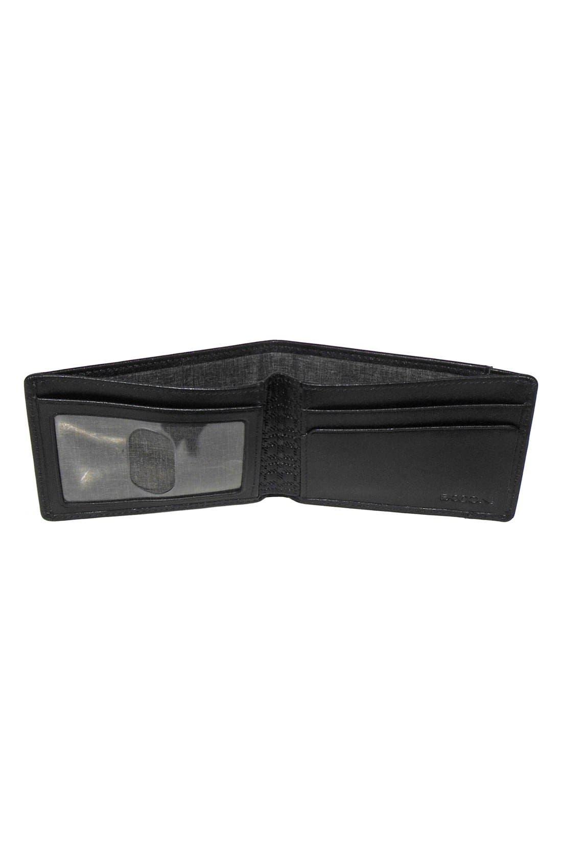 'Grant Slimster' RFID Blocker Leather Wallet,                             Alternate thumbnail 3, color,