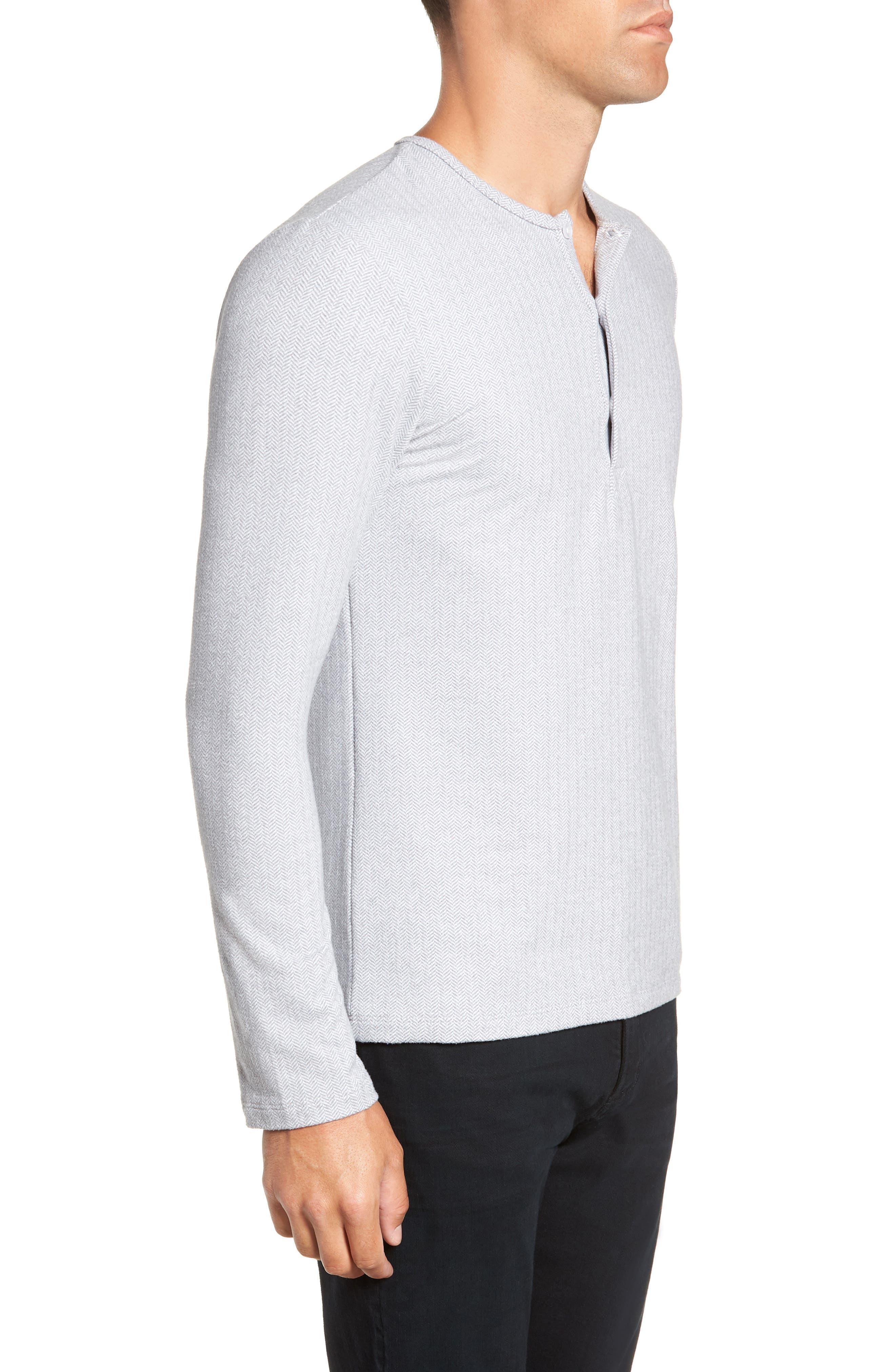 MIZZEN+MAIN,                             Anchorage Regular Fit Henley T-Shirt,                             Alternate thumbnail 3, color,                             031