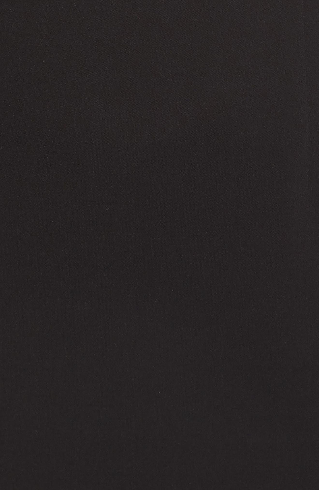 Whisper Sweetheart Dress,                             Alternate thumbnail 7, color,                             BLACK