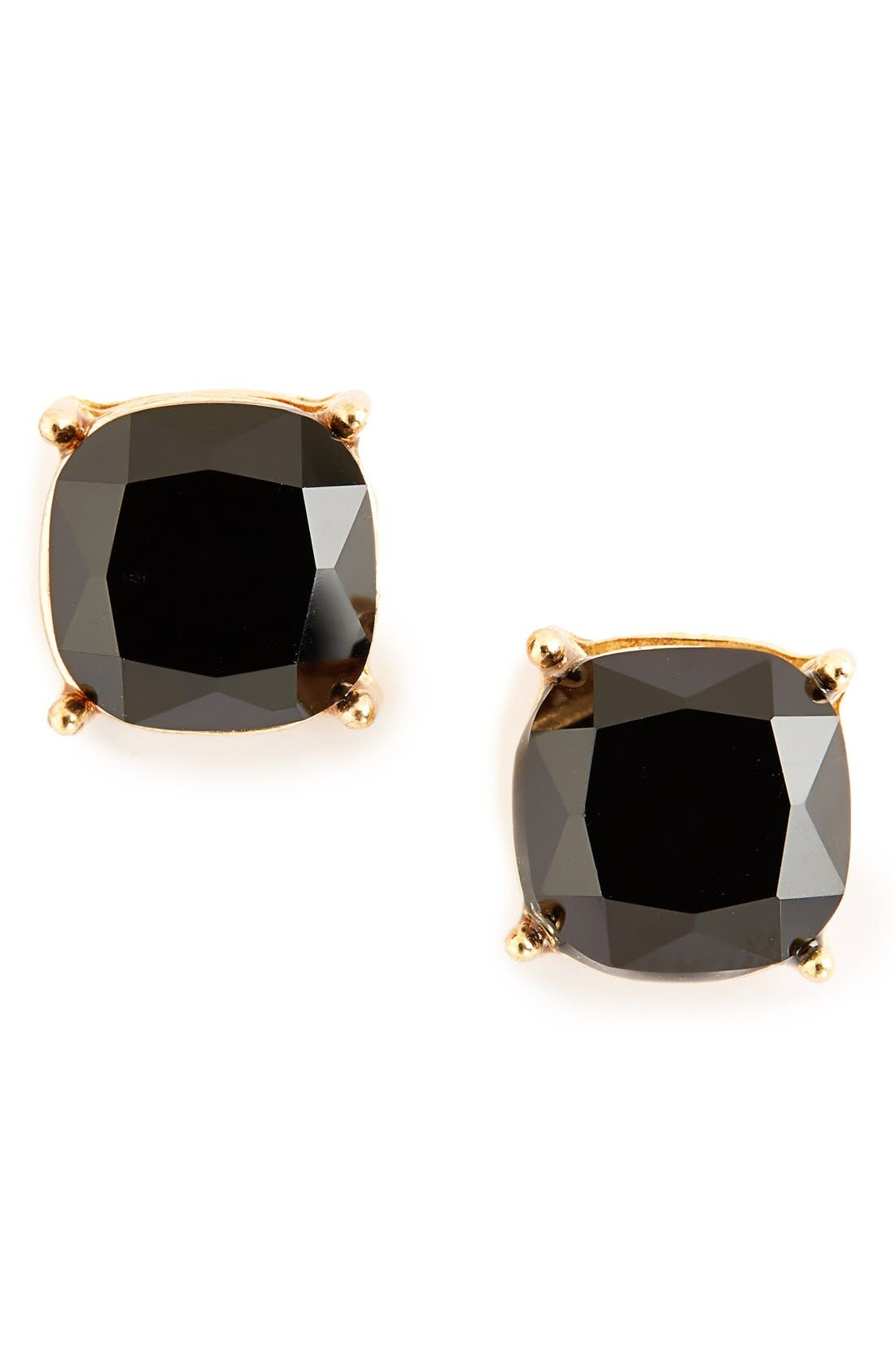 Stone Stud Earrings, Main, color, 001