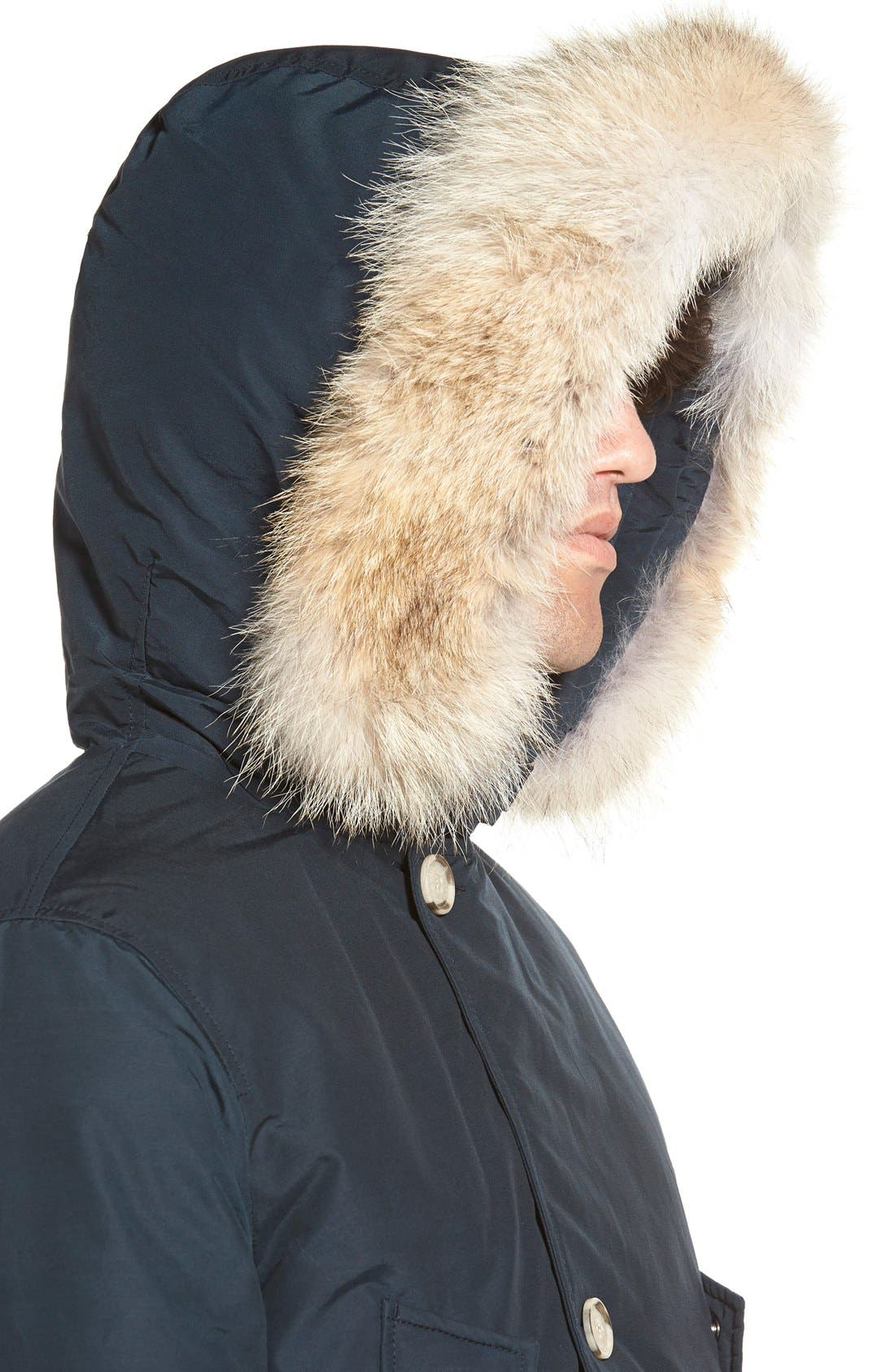 John Rich & Bros. Arctic Parka with Genuine Coyote Fur Trim,                             Alternate thumbnail 12, color,