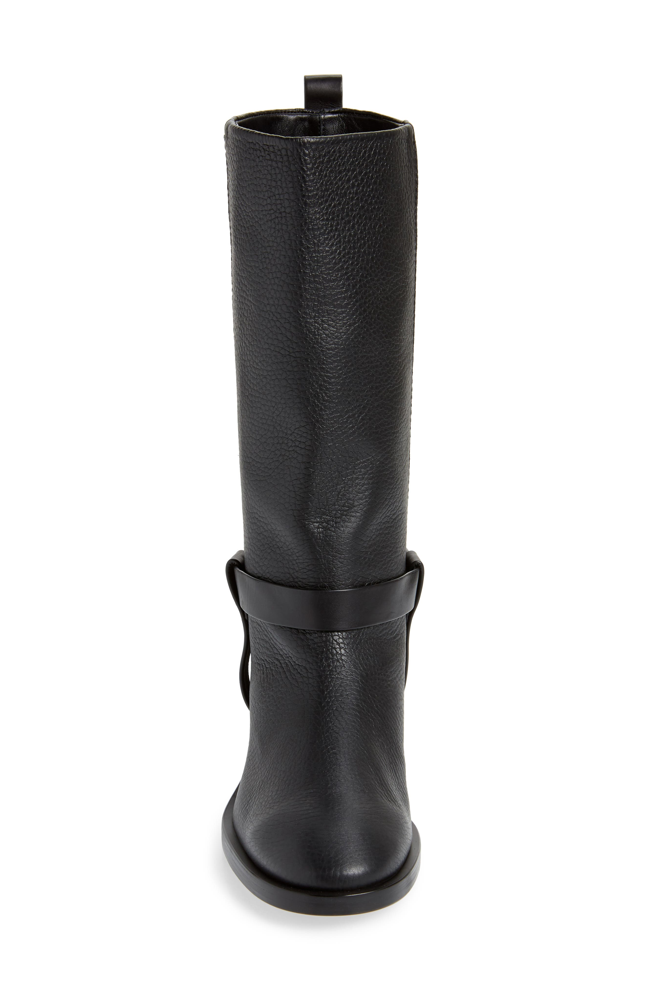 Casey Harness Boot,                             Alternate thumbnail 4, color,                             PITCH BLACK WESTPORT