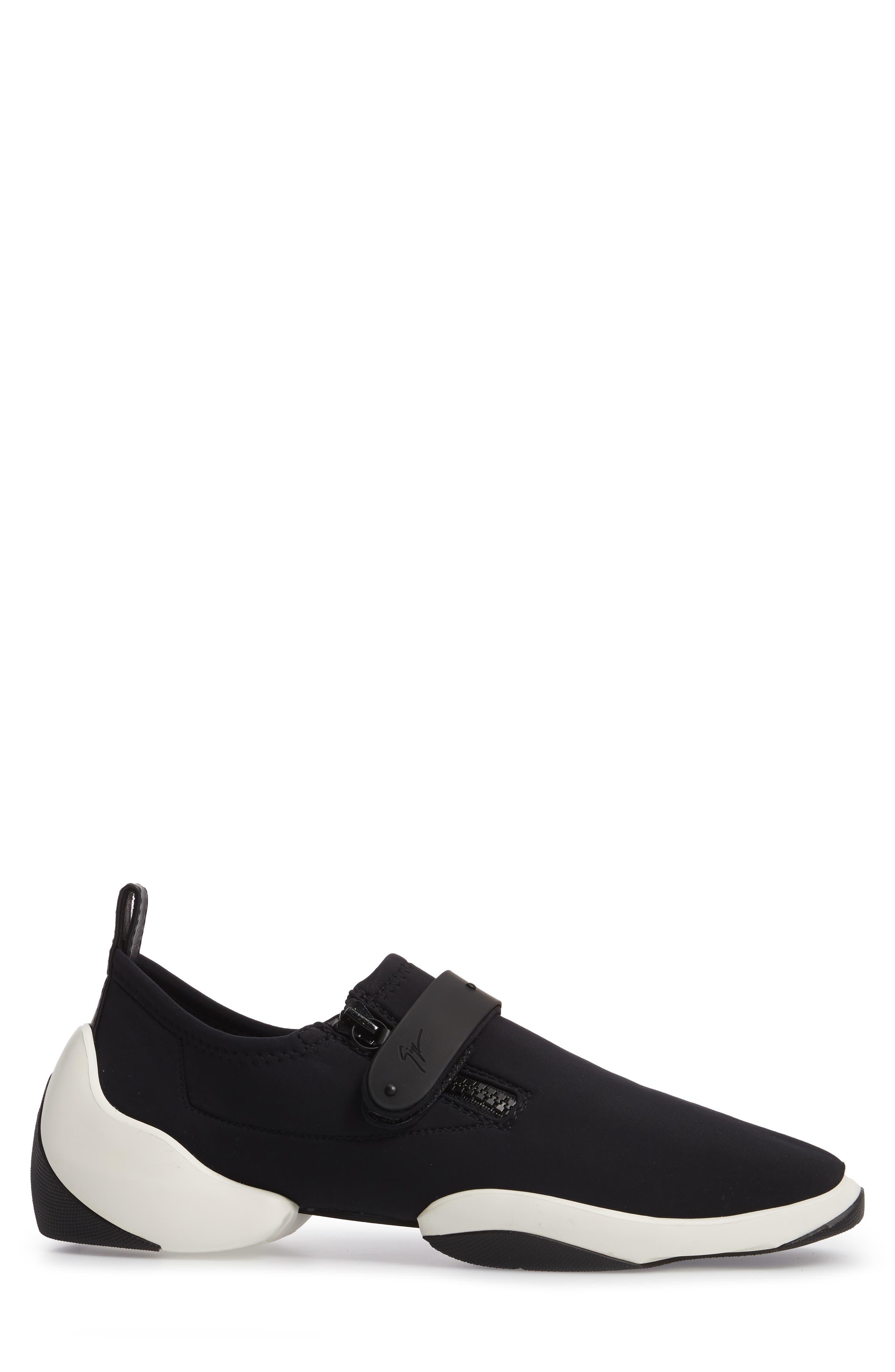 Scuba Strap Sneaker,                             Alternate thumbnail 3, color,                             001