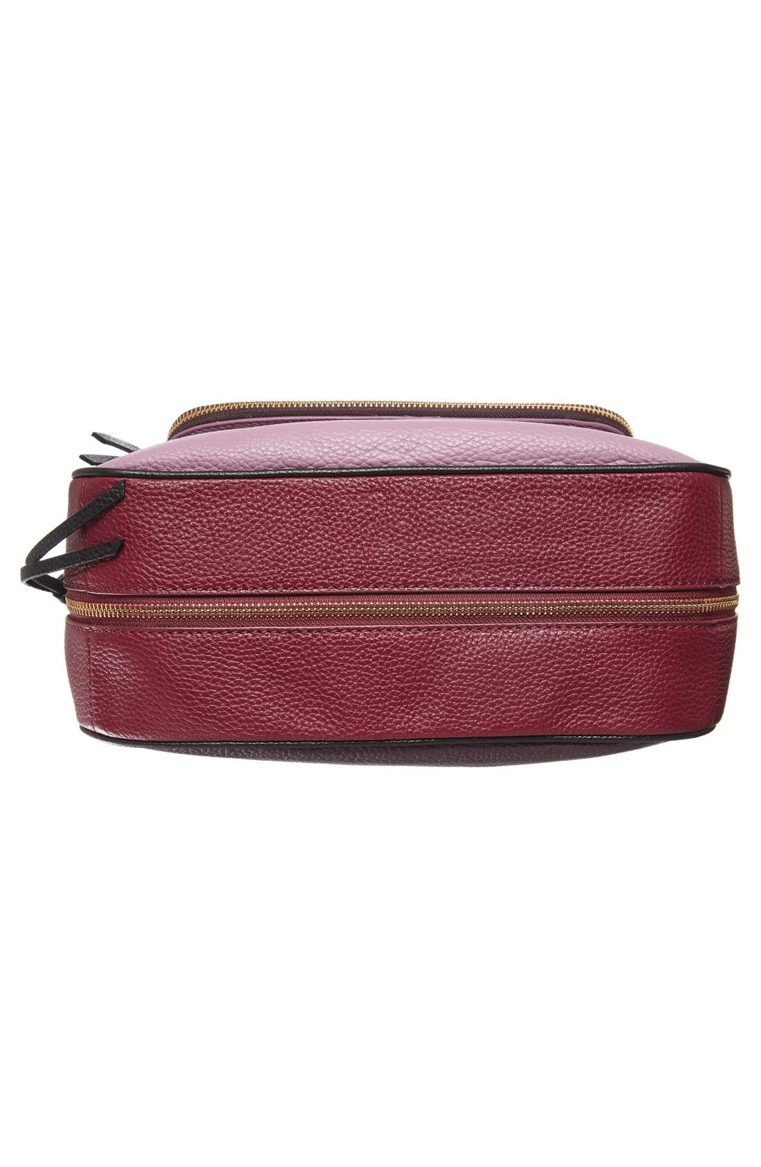 cobble hill - deva leather crossbody bag,                             Alternate thumbnail 43, color,