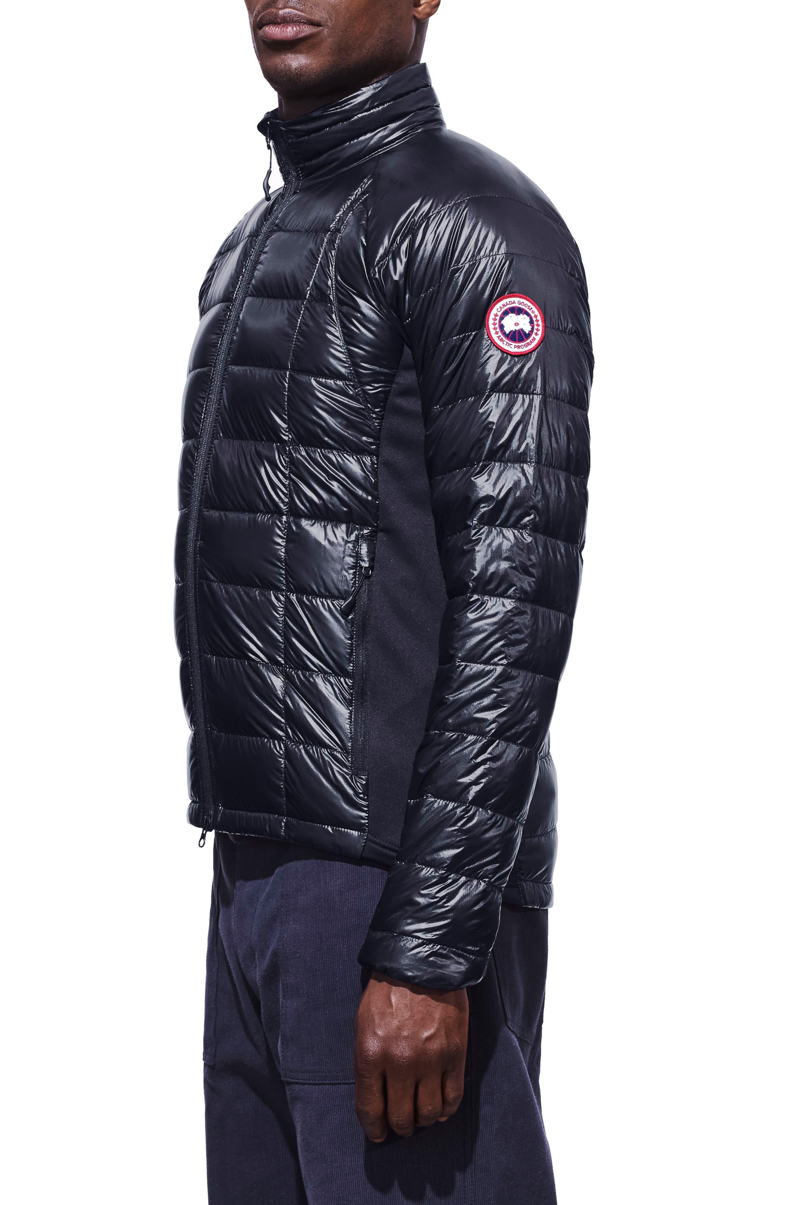 'Hybridge<sup>™</sup> Lite' Slim Fit Packable Jacket,                             Alternate thumbnail 3, color,                             ADMIRAL BLUE/ BLACK