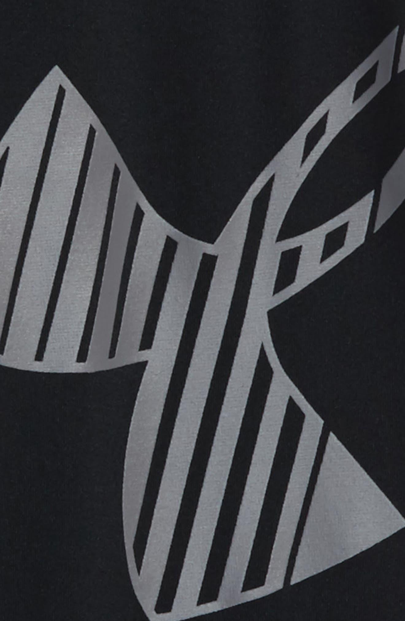 Logo HeatGear<sup>®</sup> 3/4 Leggings,                             Alternate thumbnail 13, color,