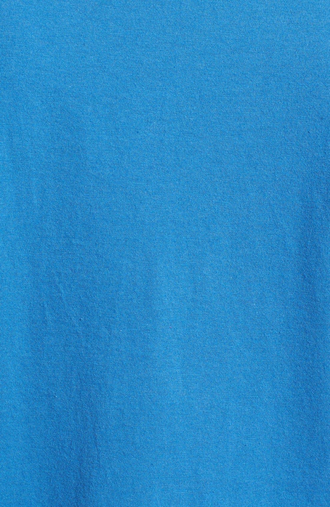 'Chicago Cubs - Brass Tacks' Trim Fit T-Shirt,                             Alternate thumbnail 5, color,                             450
