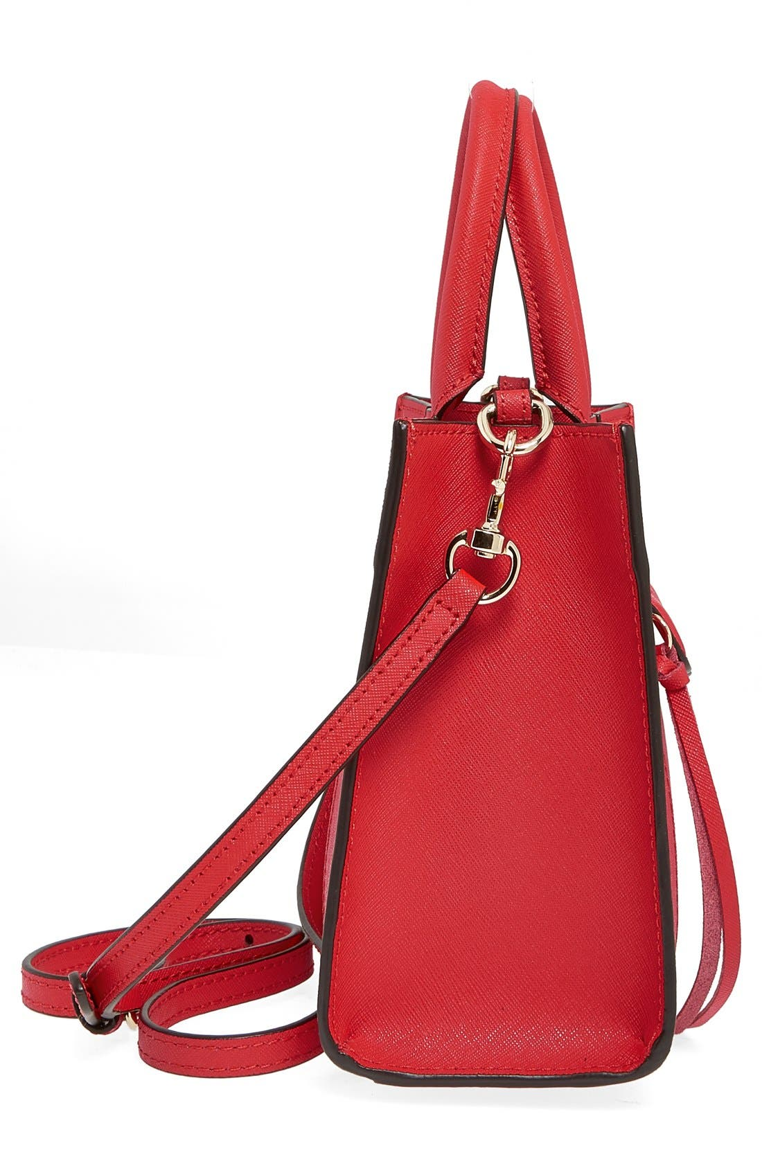 'Mini MAB Tote' Crossbody Bag,                             Alternate thumbnail 112, color,