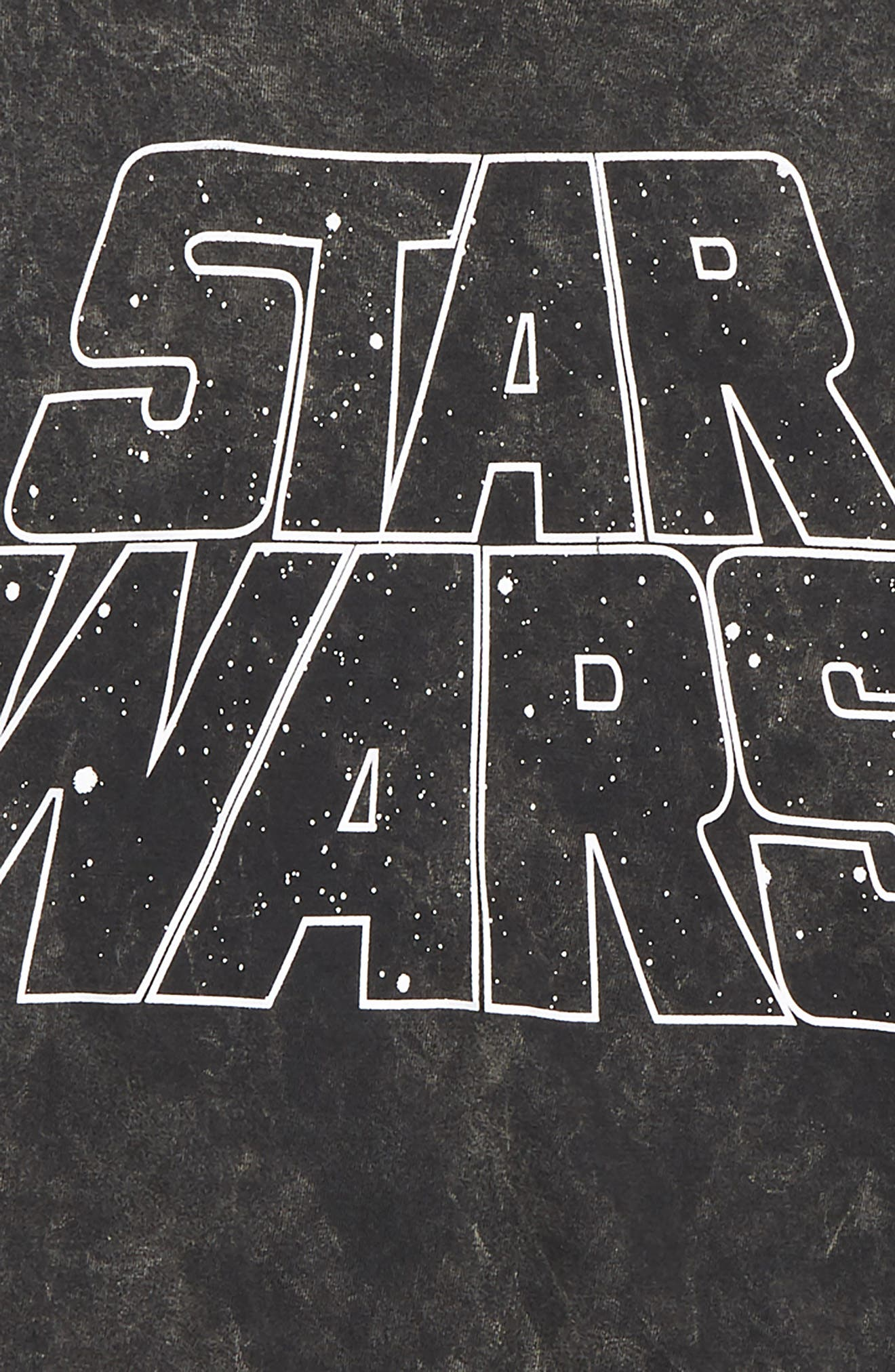 Star Wars<sup>™</sup> Graphic T-Shirt,                             Alternate thumbnail 2, color,                             CHARCOAL WASHED