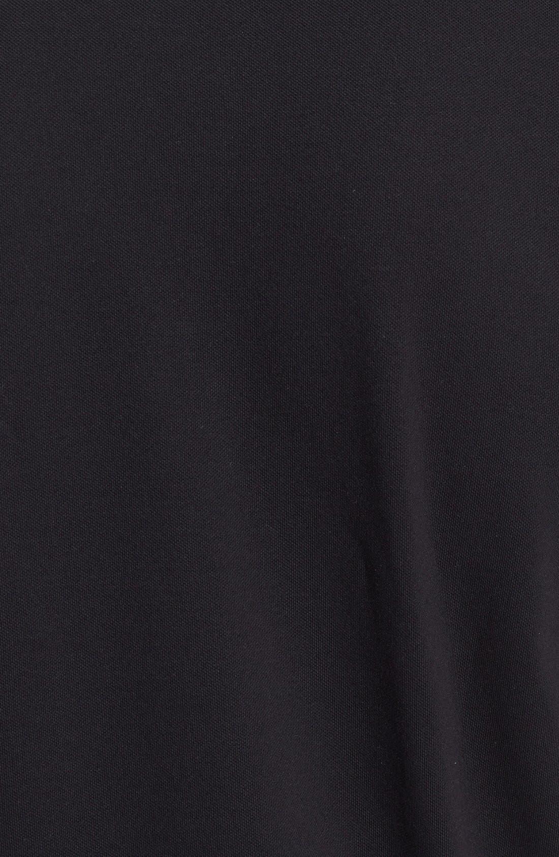 BOSS,                             'Firenze' Regular Fit Piqué Polo,                             Alternate thumbnail 2, color,                             001