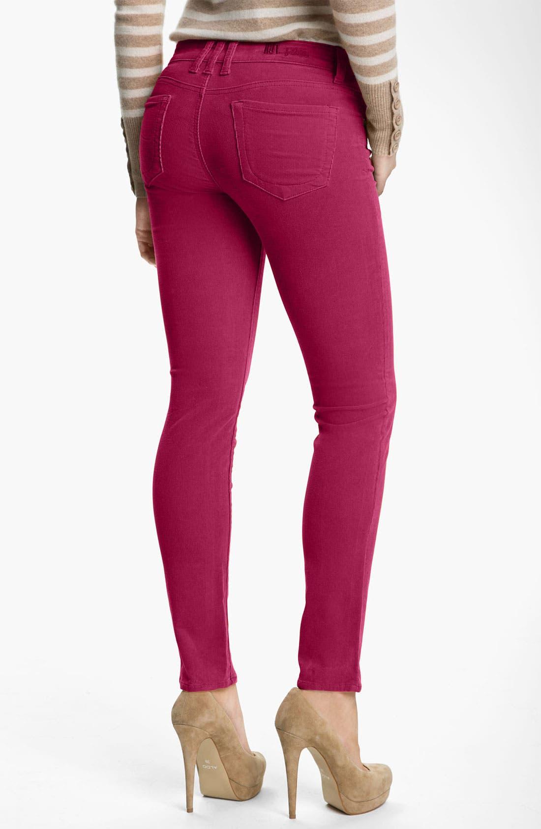 'Diana' Stretch Corduroy Skinny Pants,                             Alternate thumbnail 145, color,