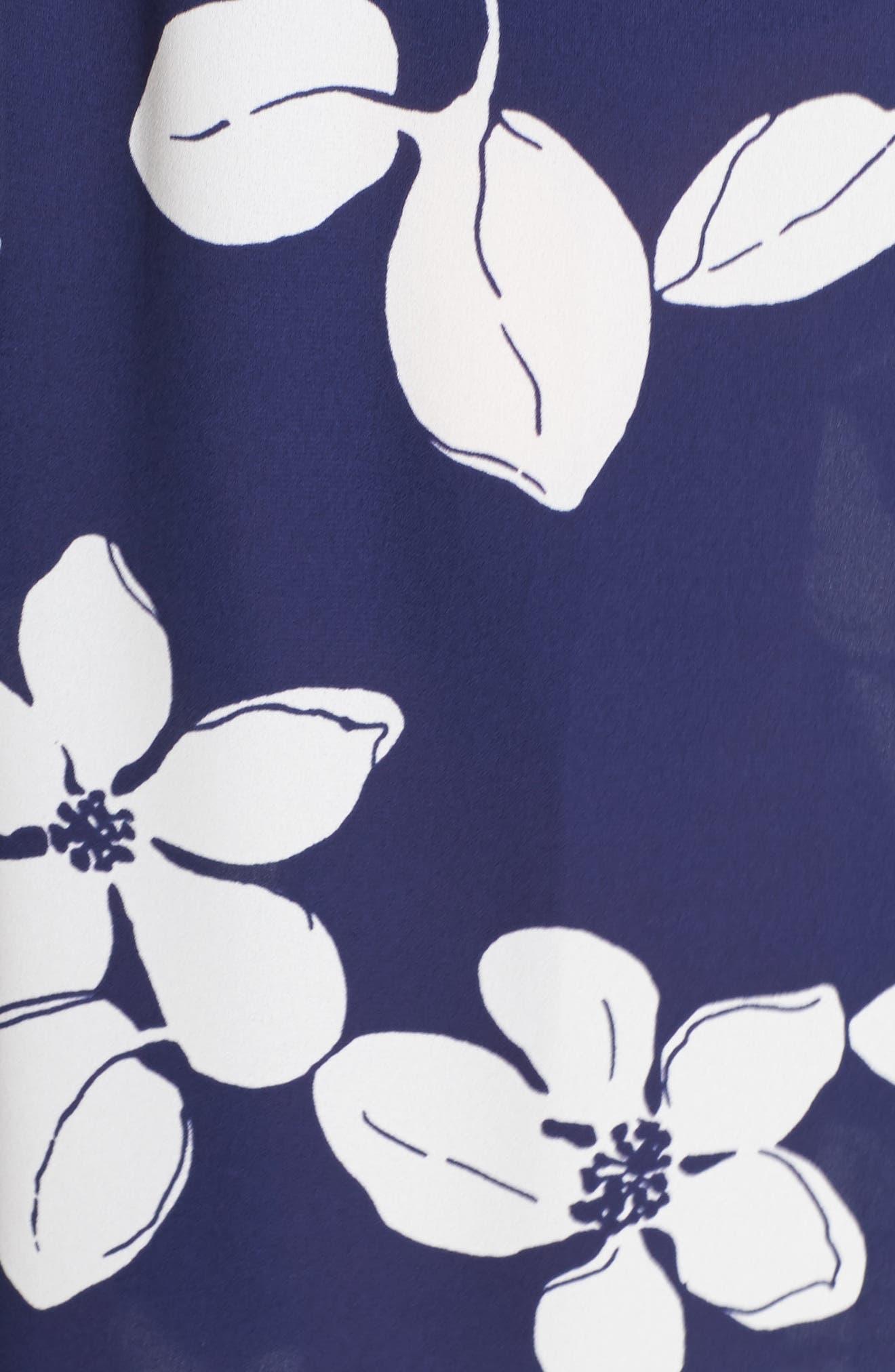Off the Shoulder Ruffle Maxi Dress,                             Alternate thumbnail 5, color,                             400