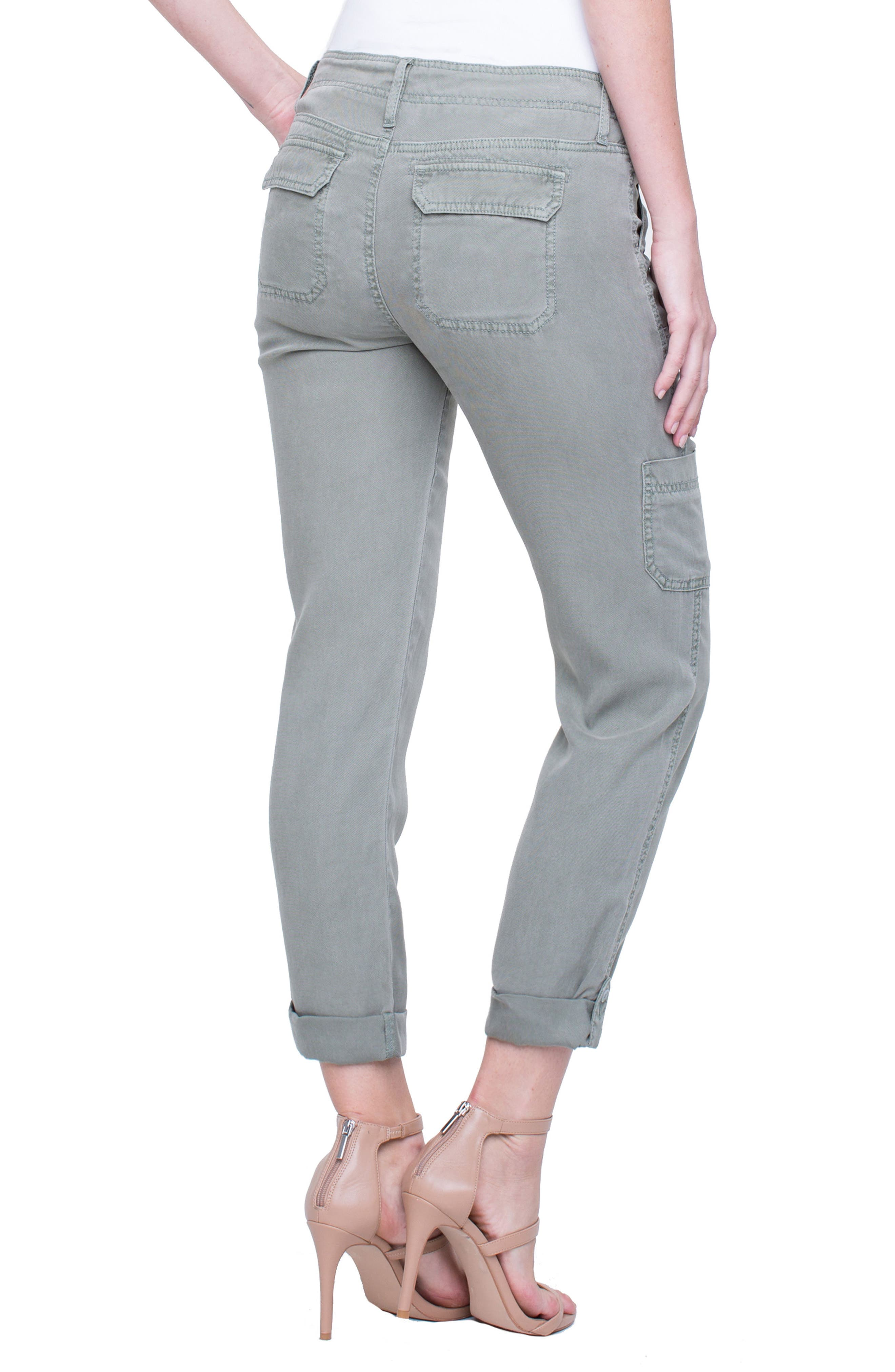 Cargo Rolled Cuff Pants,                             Alternate thumbnail 2, color,                             331