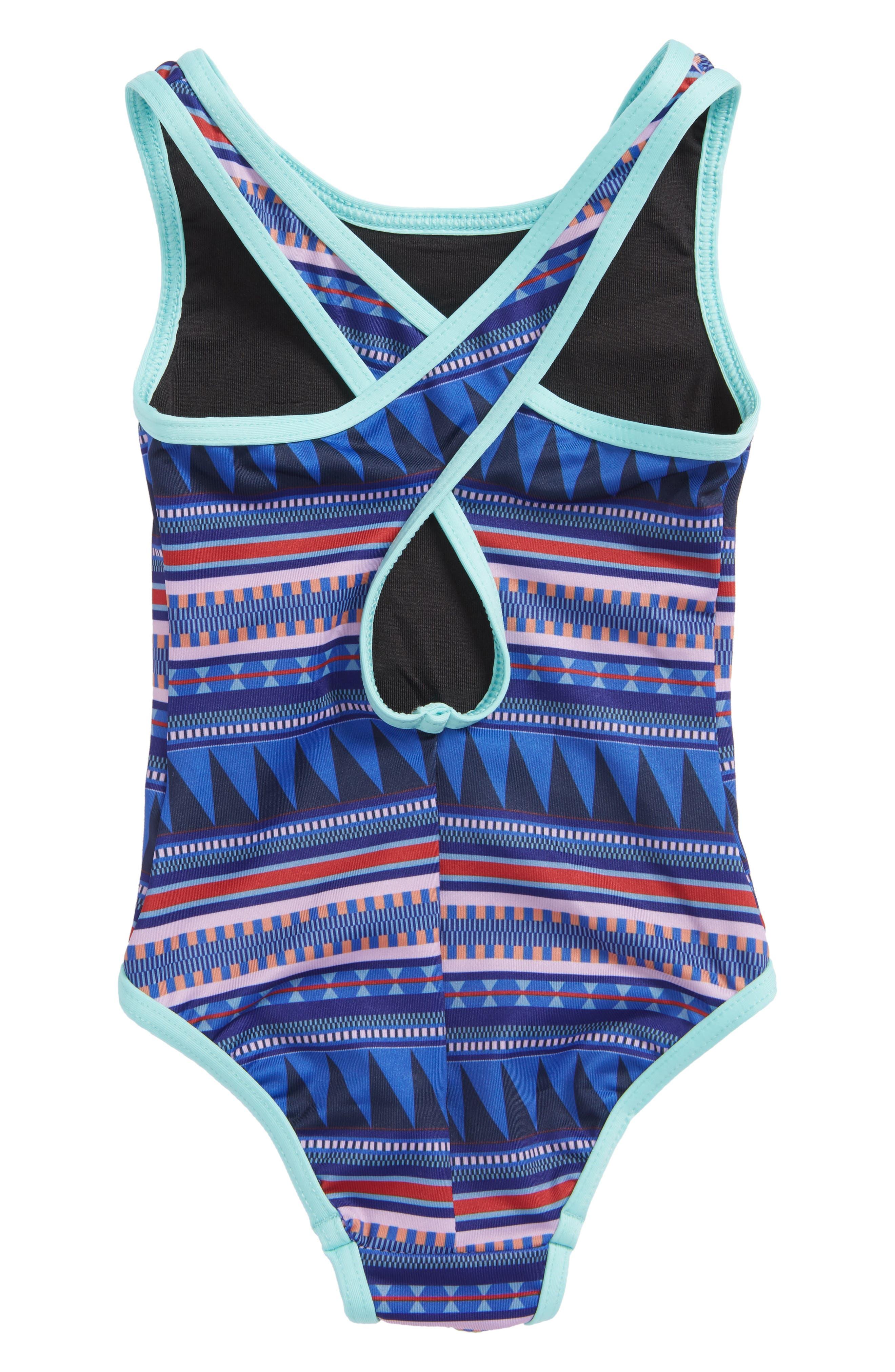 QT One-Piece Swimsuit,                             Alternate thumbnail 2, color,                             400