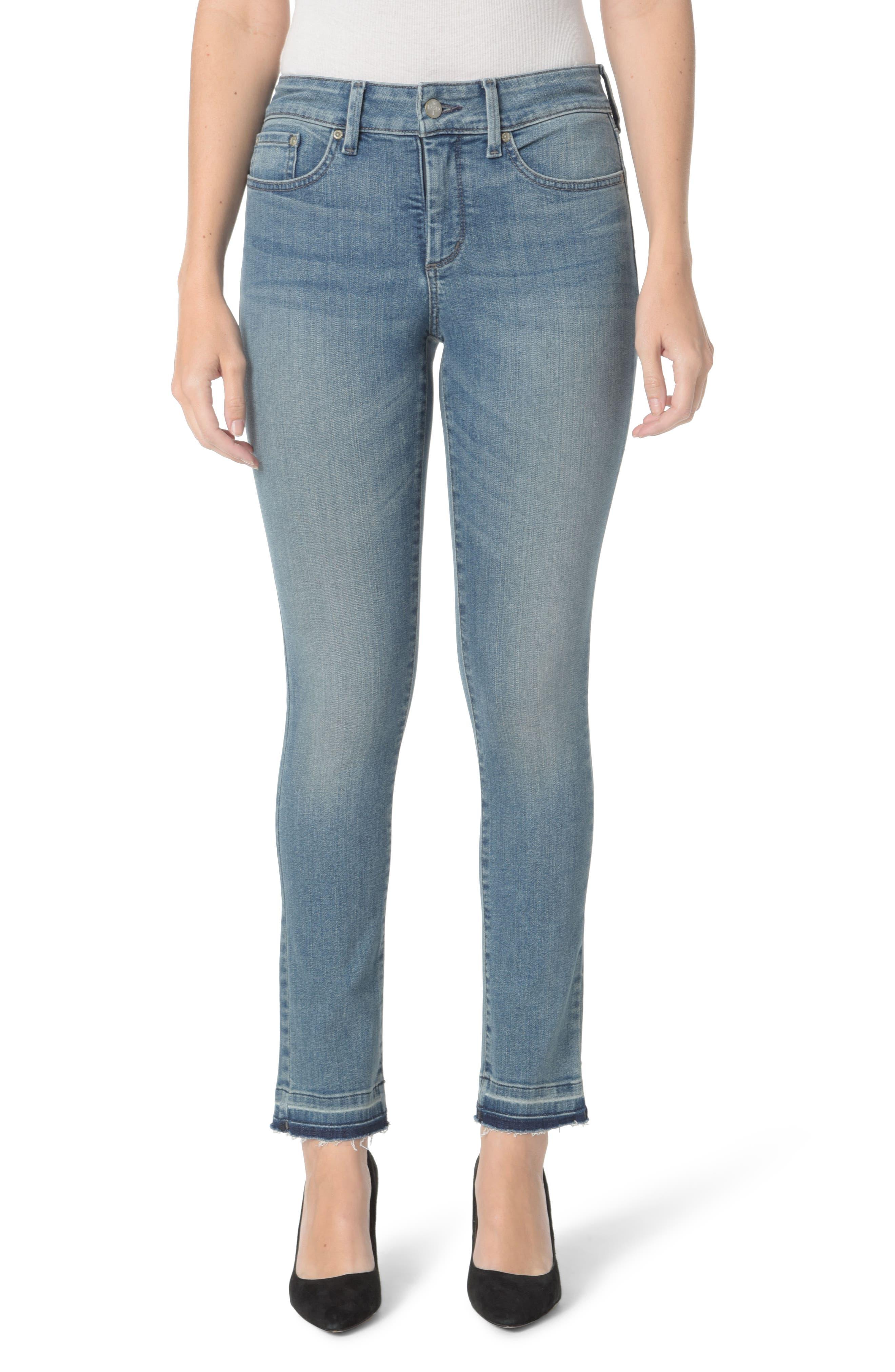 Sheri Release Hem Skinny Ankle Jeans,                         Main,                         color, 425