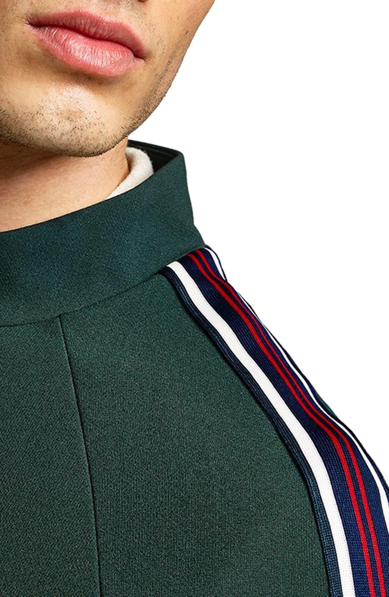 Track Jacket,                             Alternate thumbnail 3, color,                             GREEN MULTI