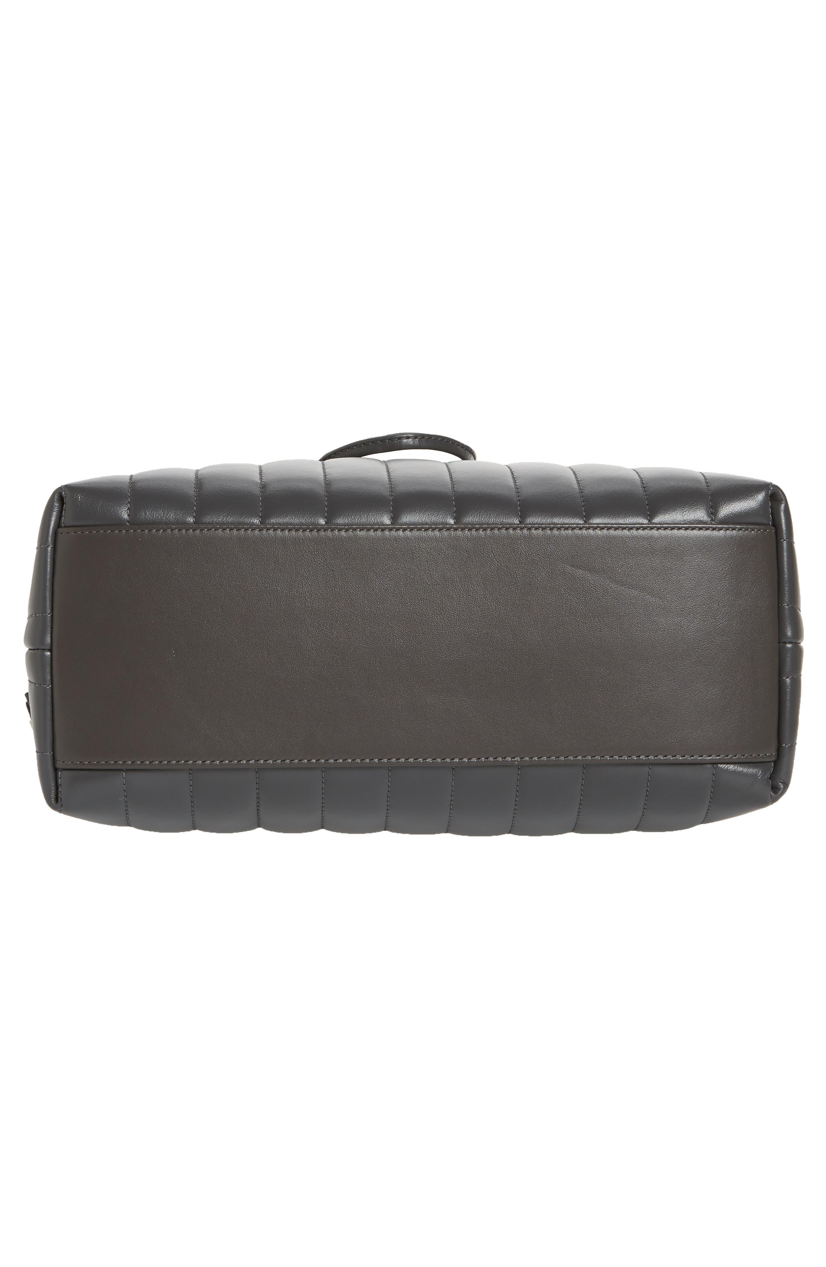 Medium Loulou Calfskin Leather Backpack,                             Alternate thumbnail 6, color,                             021