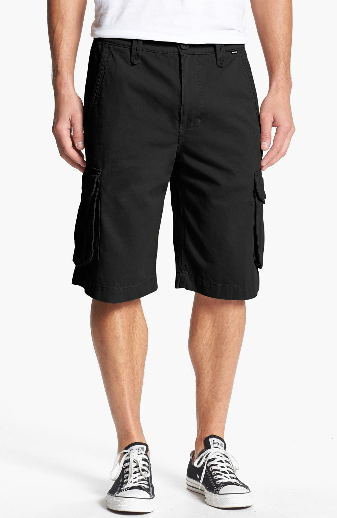 'One & Only' Cargo Shorts,                             Main thumbnail 1, color,                             002