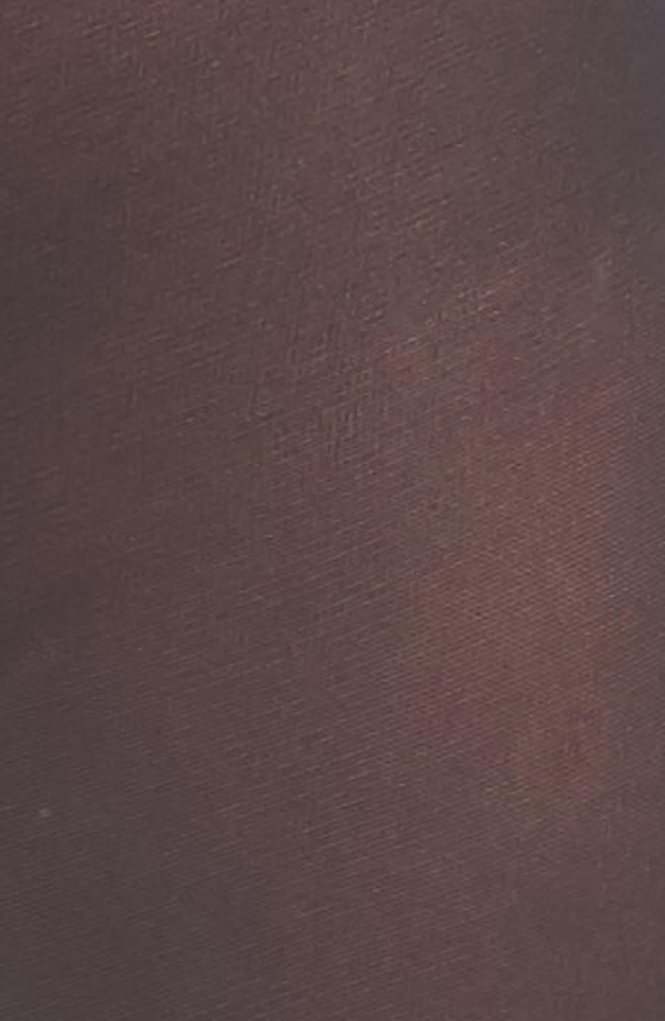Anna Control Top Pantyhose,                             Alternate thumbnail 2, color,                             BLACK