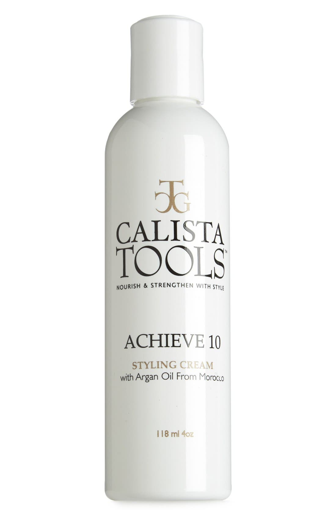CALISTA TOOLS<SUP>™</SUP>,                             'Achieve 10' Styling Cream,                             Main thumbnail 1, color,                             000