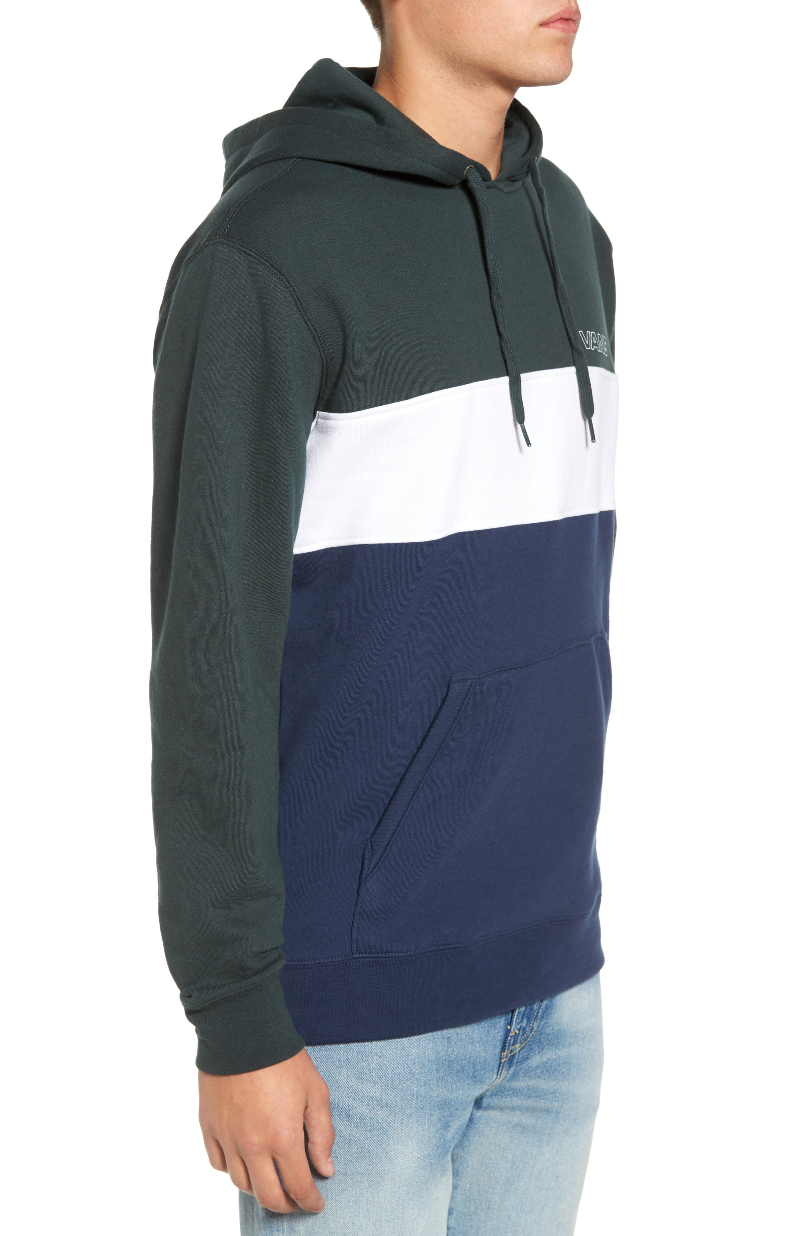 Starboard Fleece Pullover Hoodie,                             Alternate thumbnail 3, color,