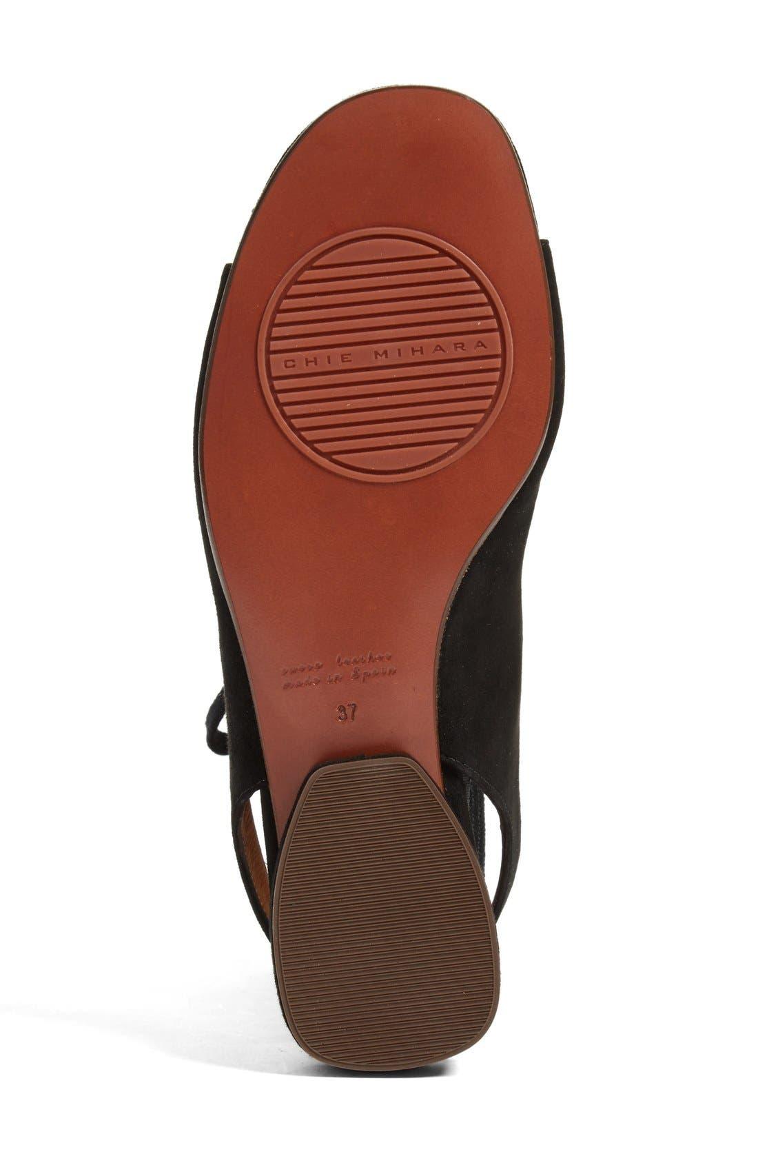 Nalia Lace-Up Sandal,                             Alternate thumbnail 4, color,                             001