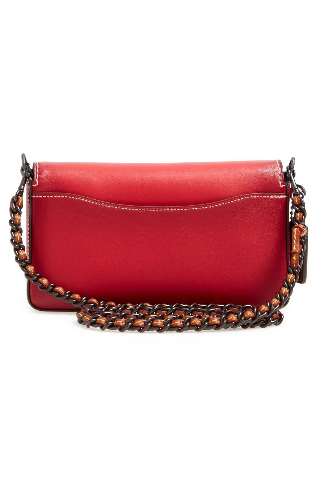 'Dinky' Leather Crossbody Bag,                             Alternate thumbnail 14, color,