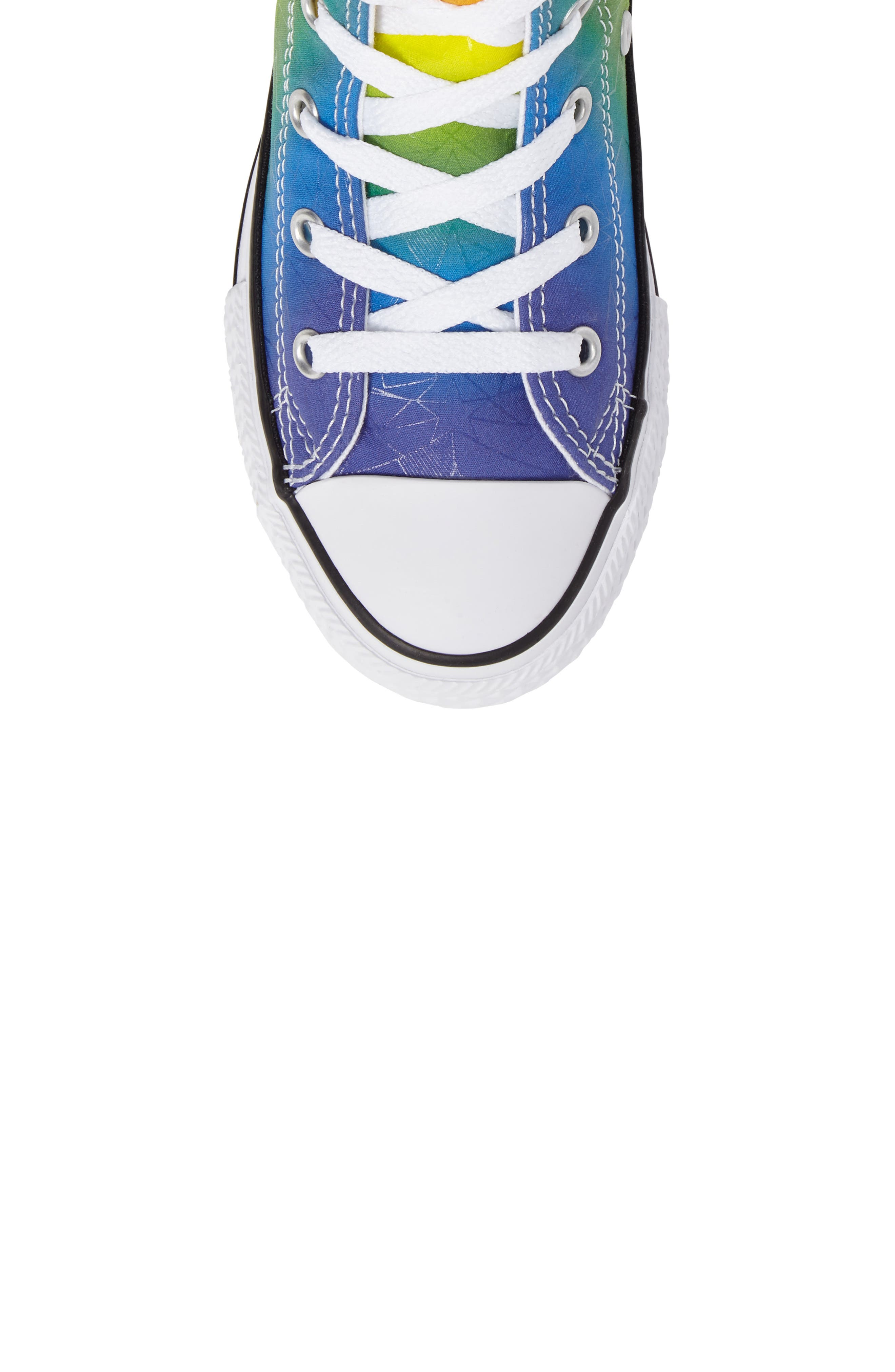 Chuck Taylor<sup>®</sup> All Star<sup>®</sup> Pride High Top Sneaker,                             Alternate thumbnail 5, color,                             400