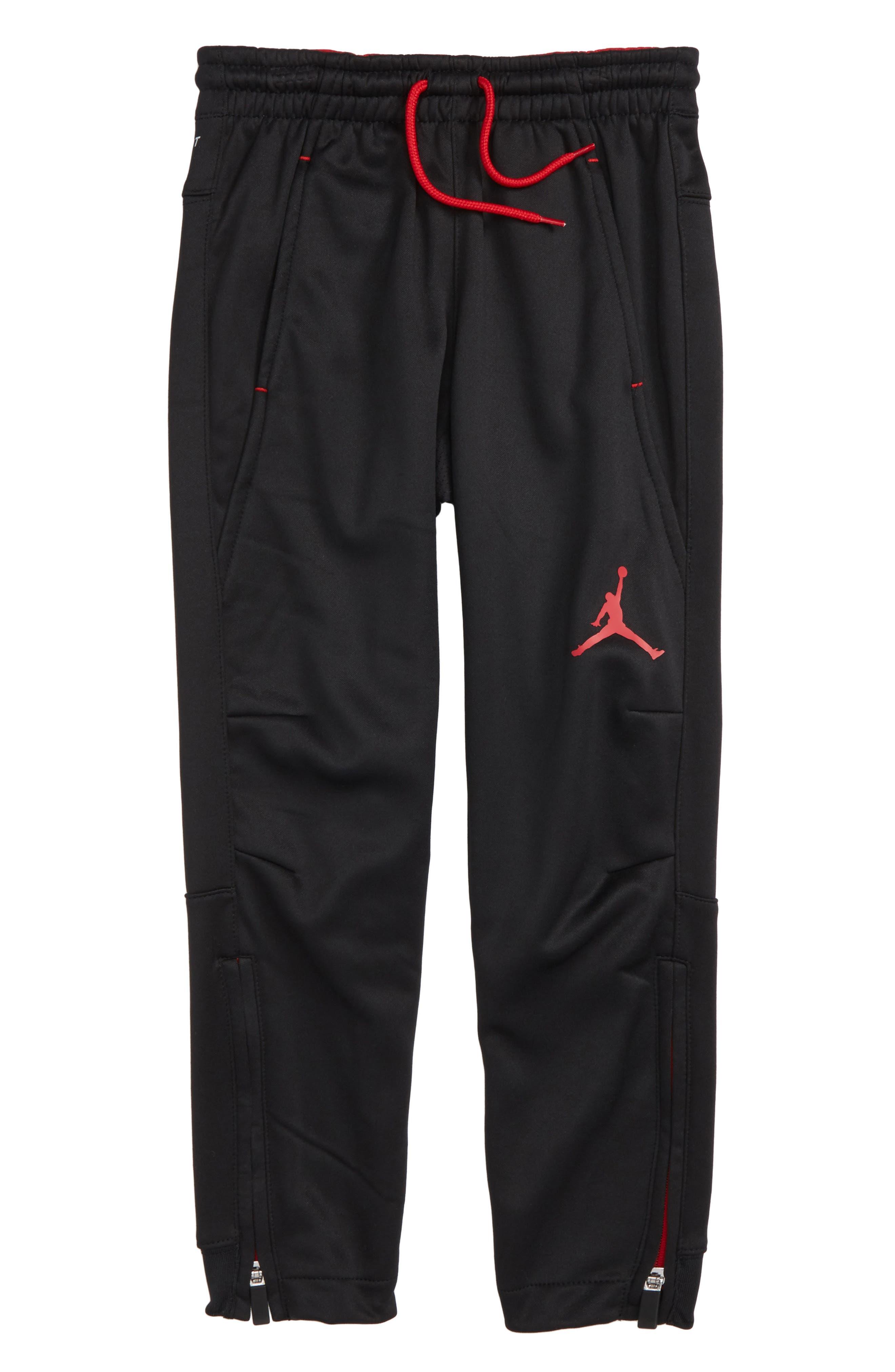 Jordan Dry 23 Alpha FZ Therma-FIT Sweatpants,                             Main thumbnail 1, color,                             004