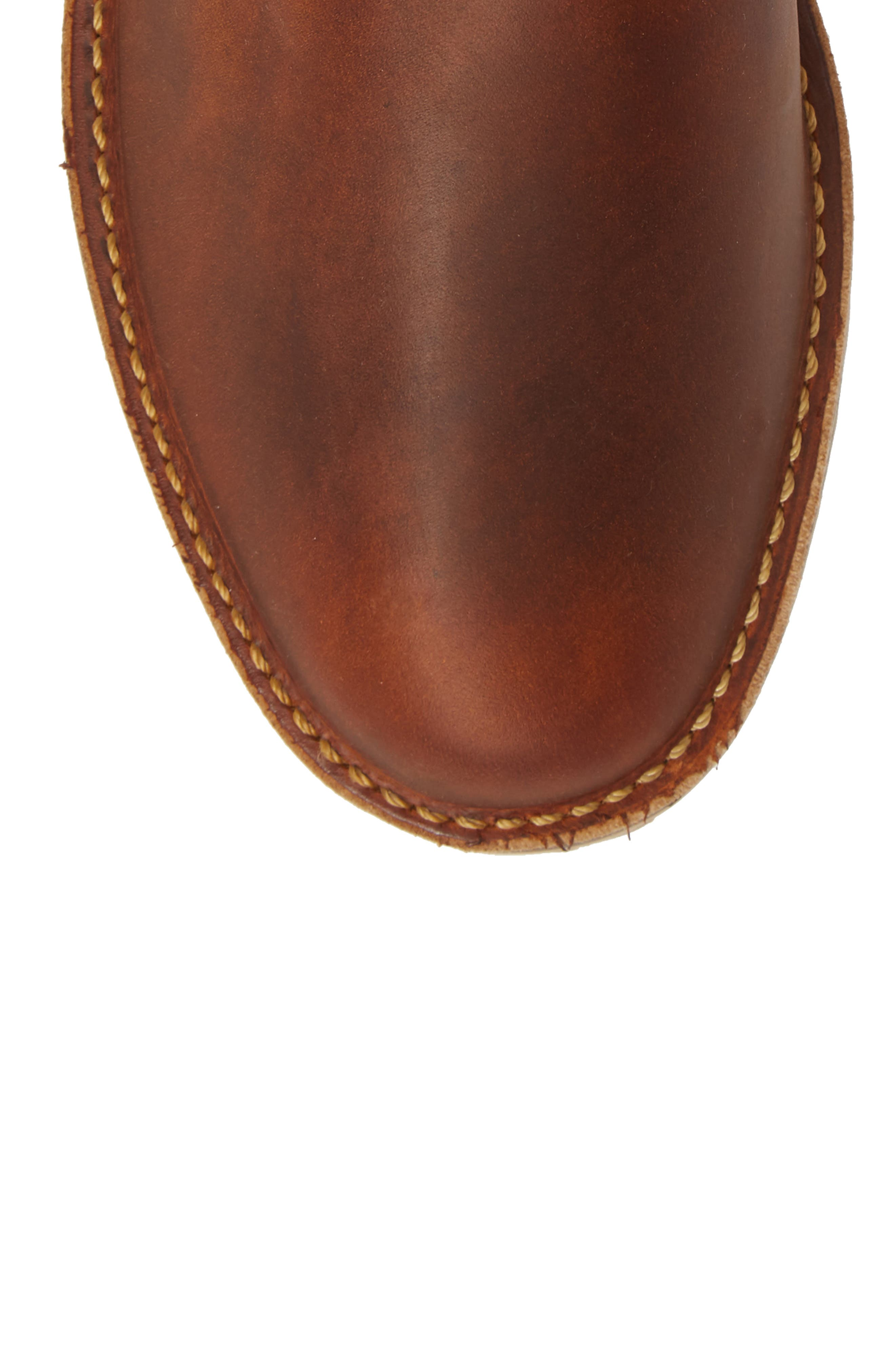 Chelsea Boot,                             Alternate thumbnail 5, color,                             COPPER LEATHER