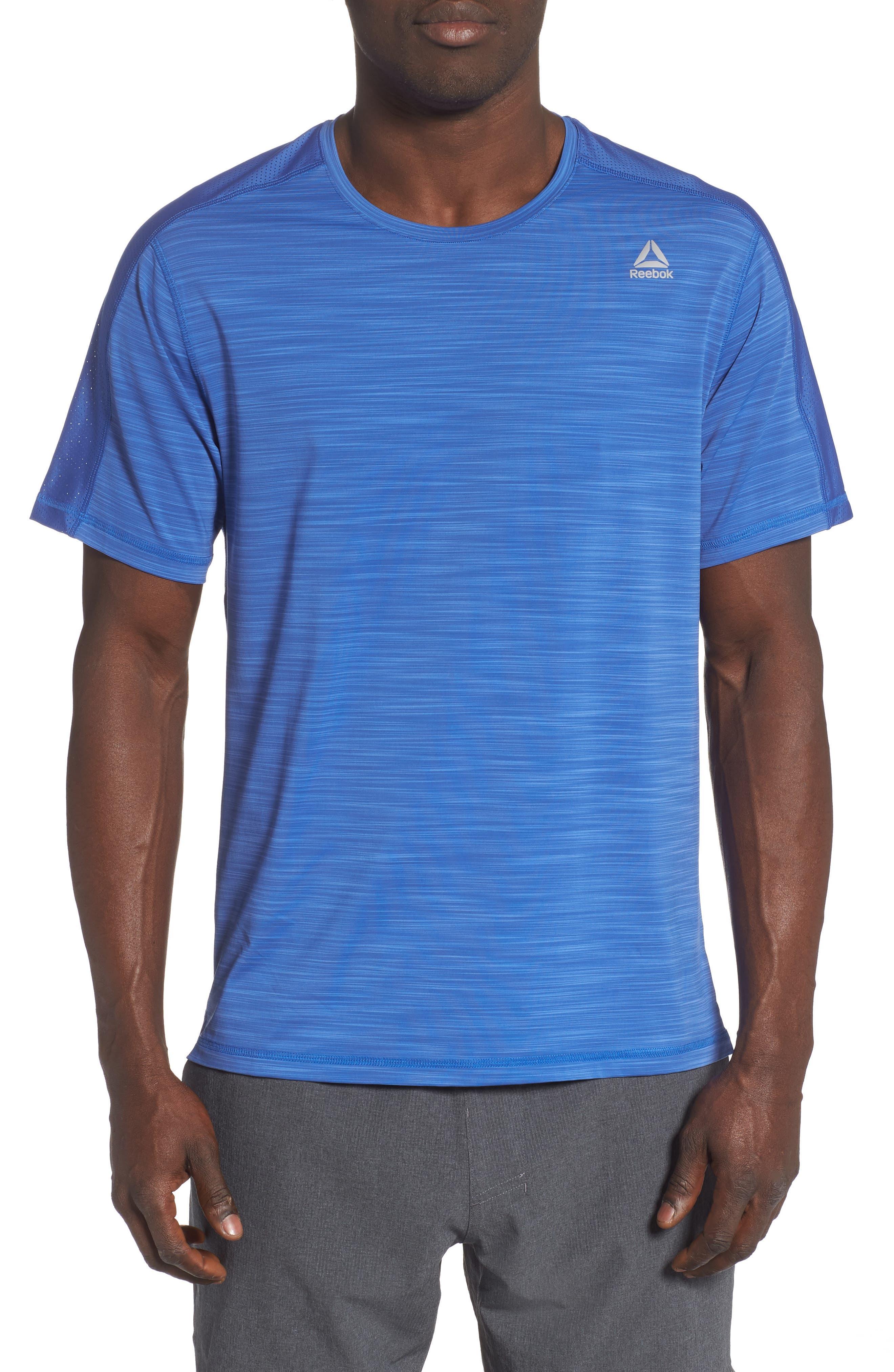 Reebok Ost Activchill Move T-Shirt, Blue