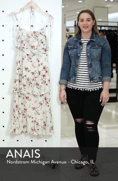 Imola Tiered Midi Dress, sales video thumbnail