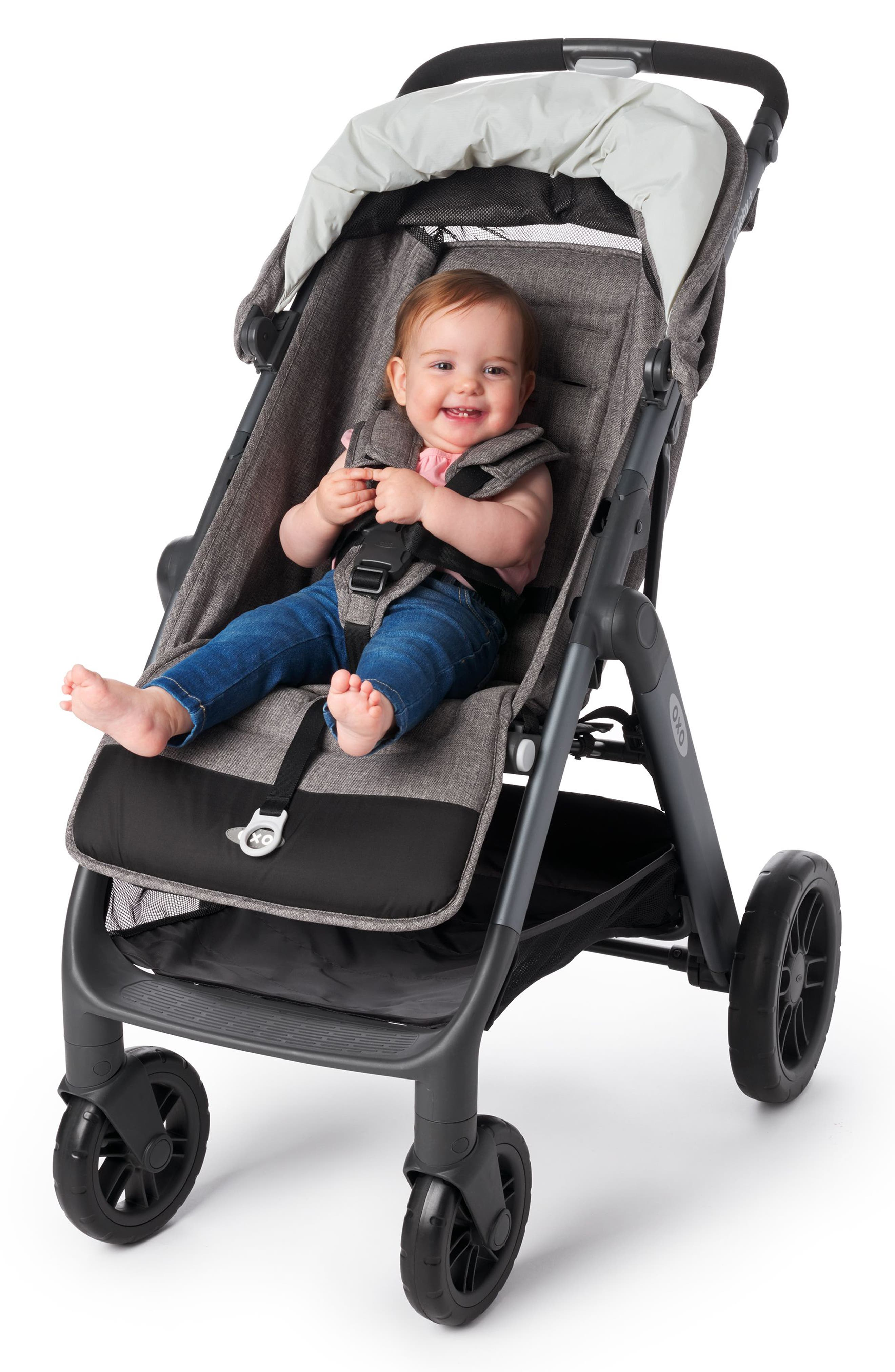 Cubby+ Stroller,                             Alternate thumbnail 10, color,                             HEATHER GRAY