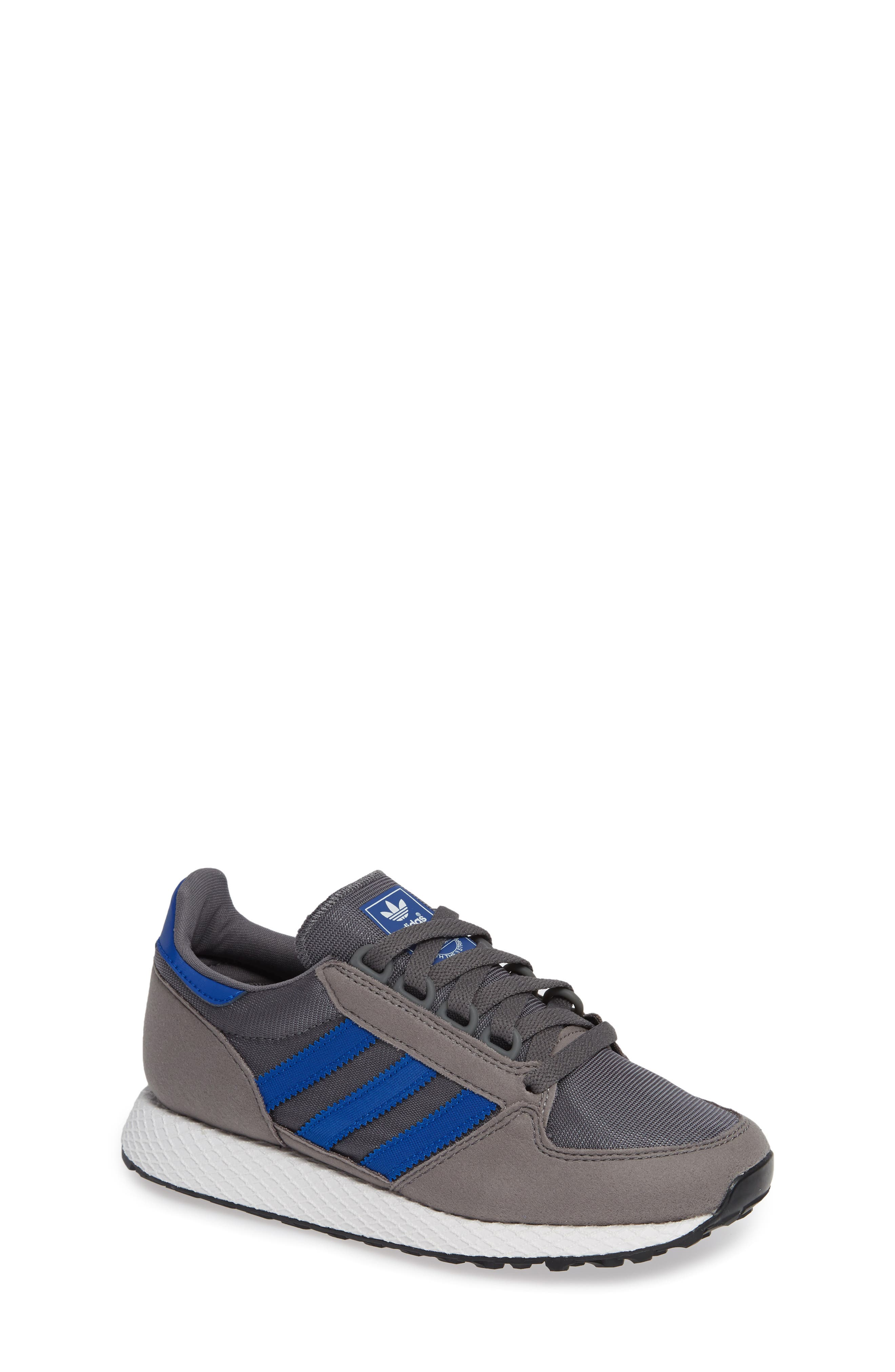Forest Grove Sneaker,                             Main thumbnail 1, color,                             GREY/ COLLEGIATE ROYAL/ WHITE