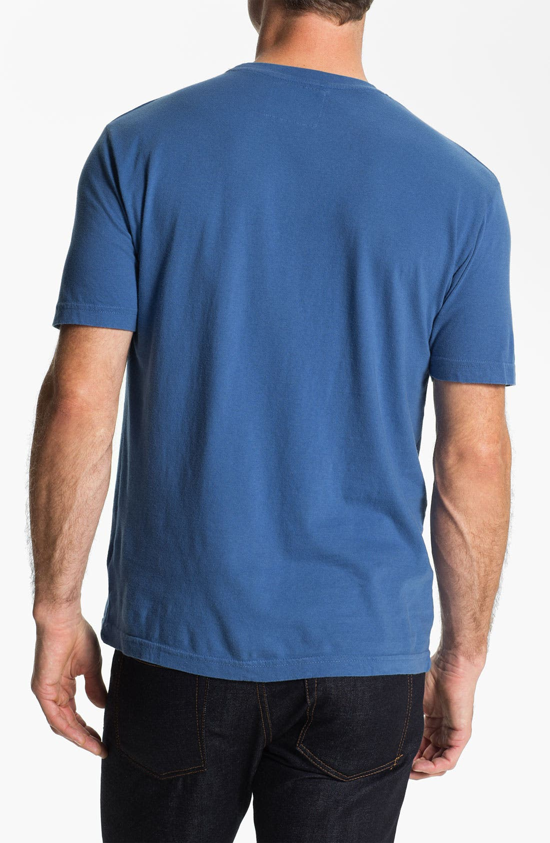 'Texas Rangers' Regular Fit Crewneck T-Shirt,                             Alternate thumbnail 130, color,