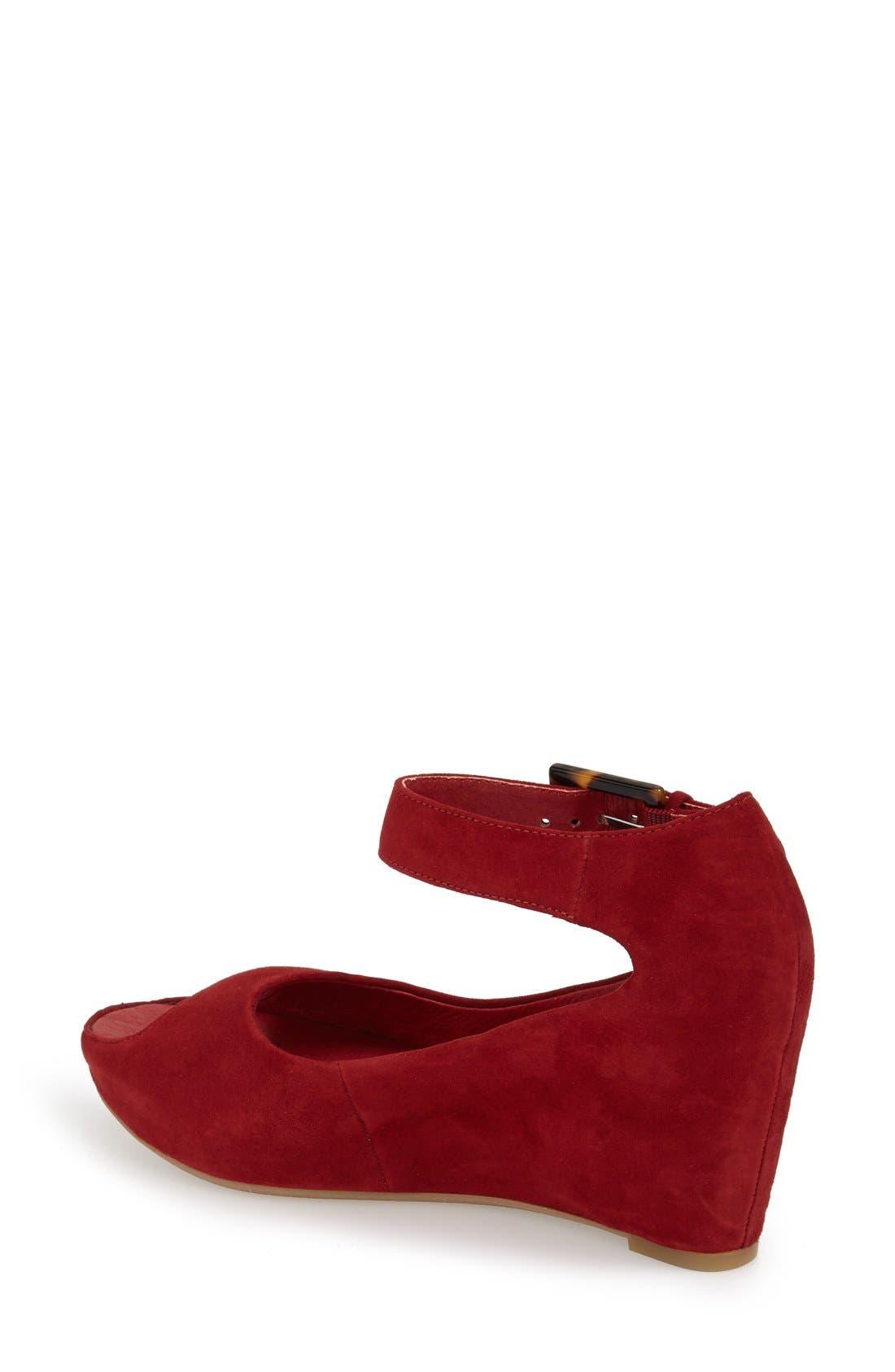 'Tricia' Ankle Strap Sandal,                             Alternate thumbnail 60, color,